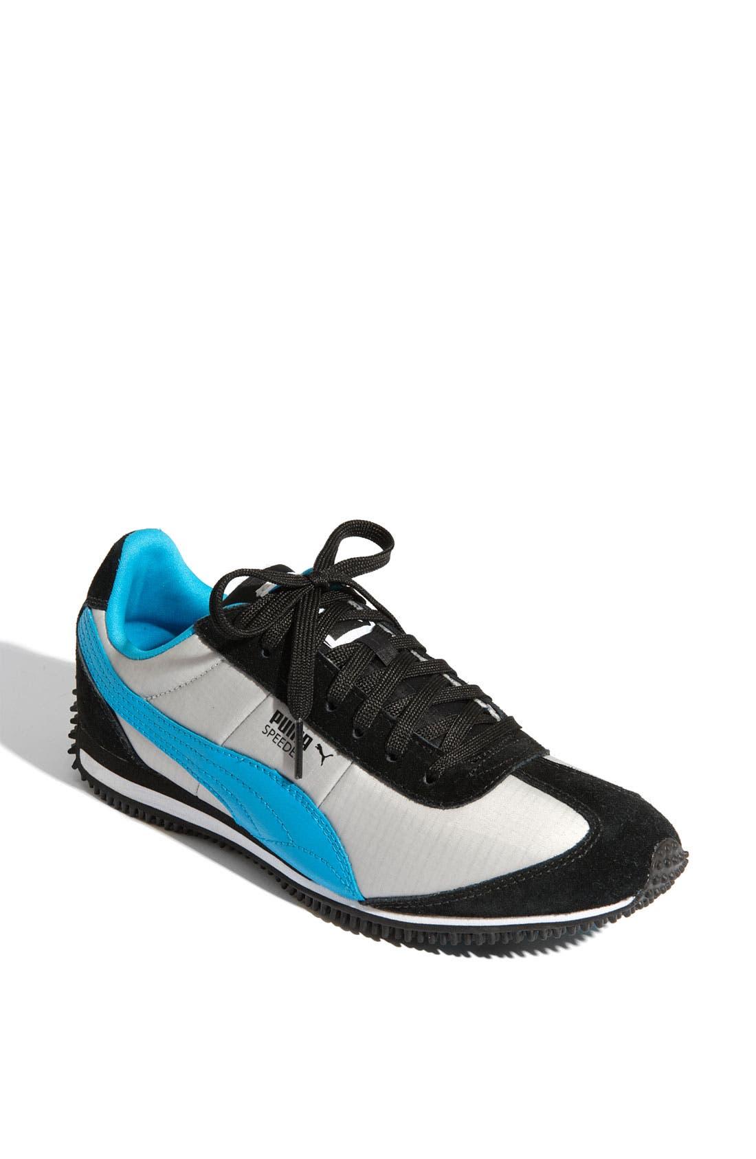 PUMA 'Speeder' Sneaker, Main, color, 001