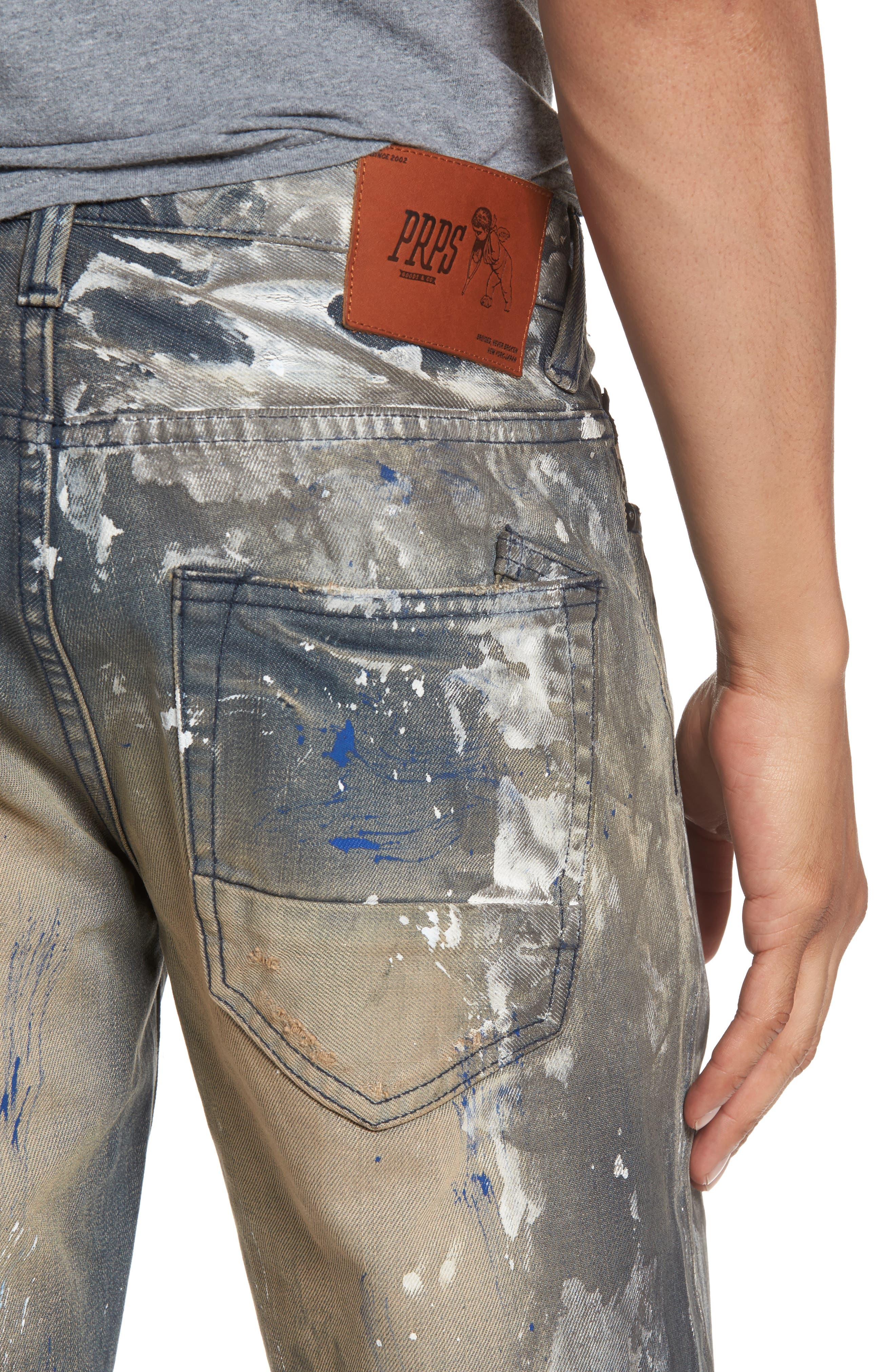 Barracuda Straight Leg Jeans,                             Alternate thumbnail 4, color,                             490