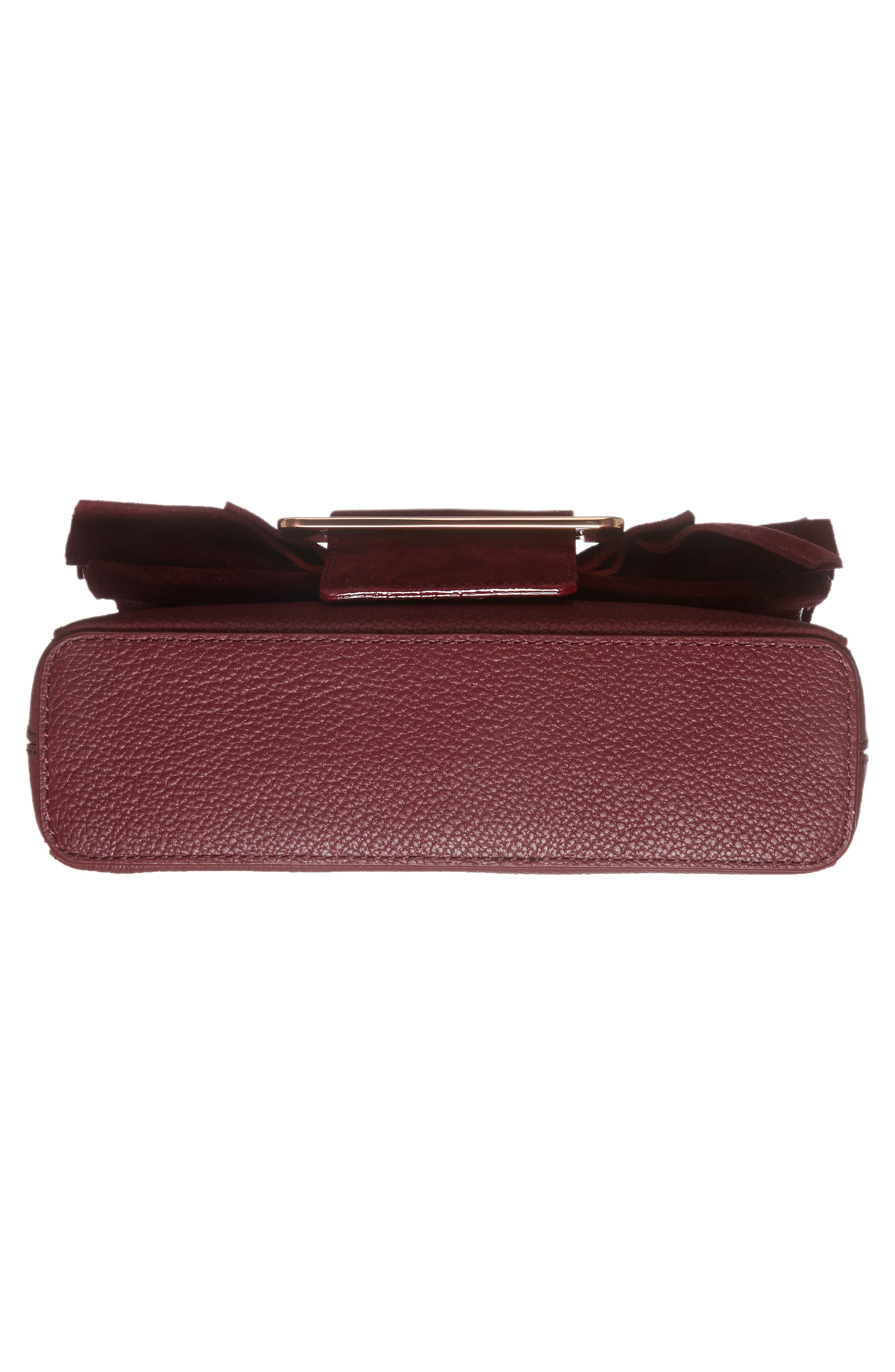 Nerinee Bow Buckle Clutch,                             Alternate thumbnail 17, color,