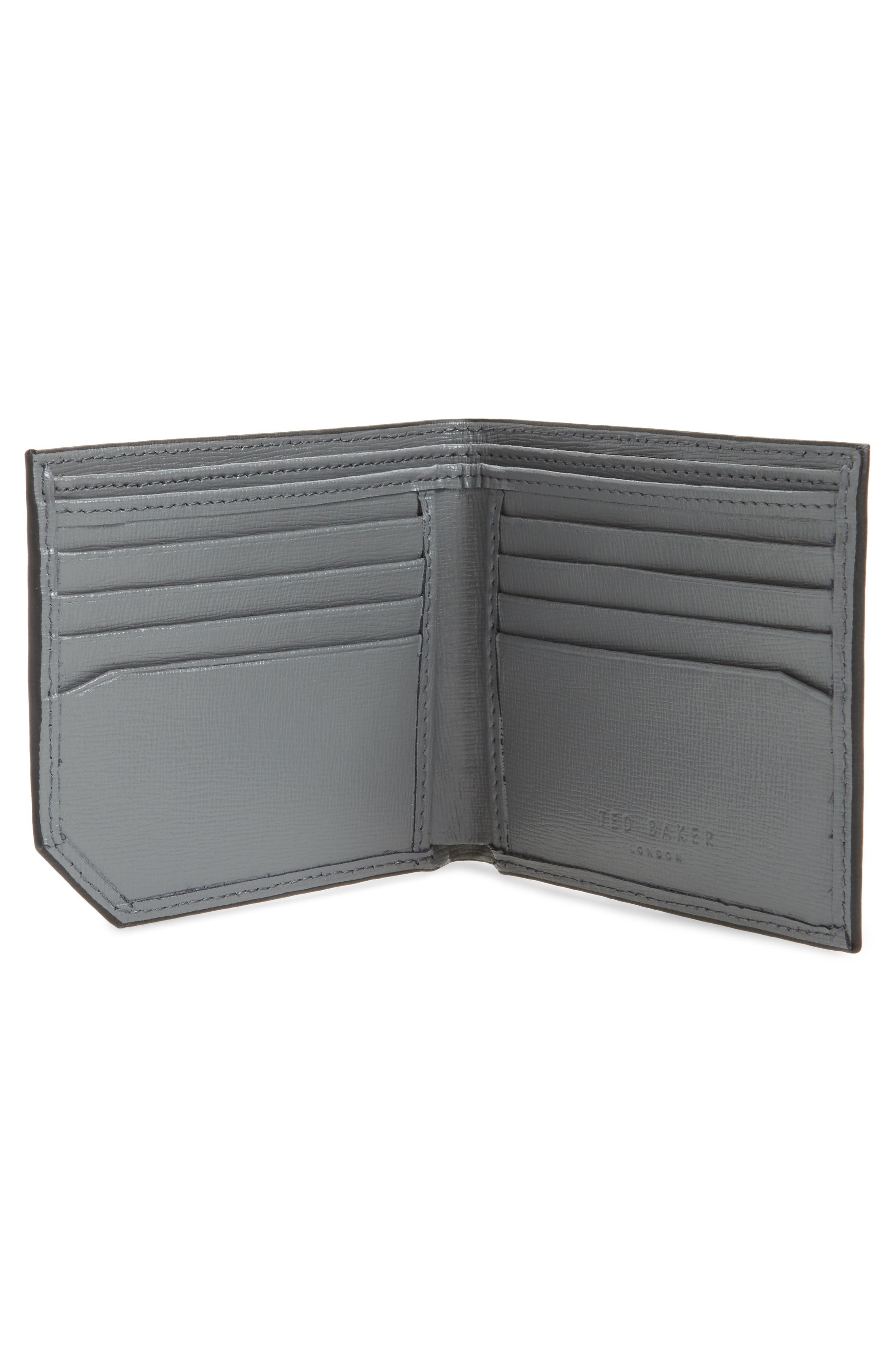 Stitchup Bifold Wallet,                             Alternate thumbnail 4, color,