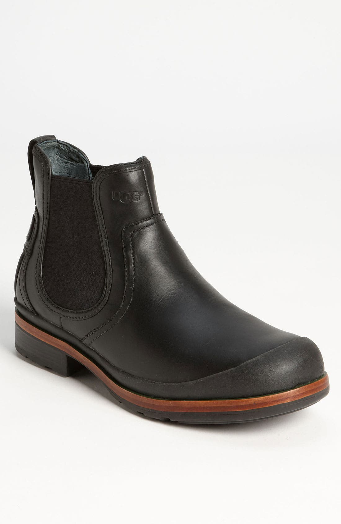 Australia 'Matteson' Chelsea Boot,                             Main thumbnail 1, color,                             001