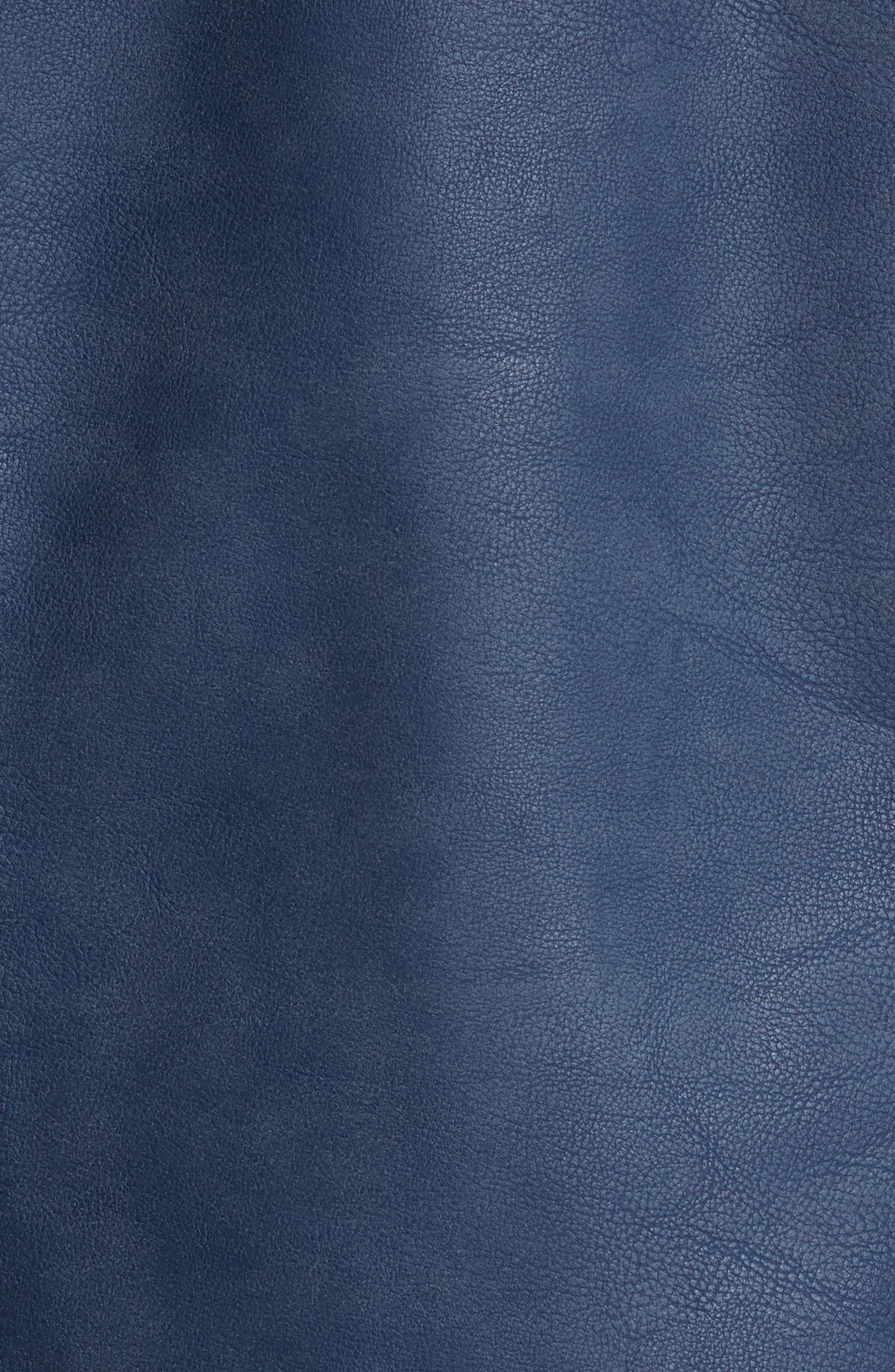 LEVI'S<SUP>®</SUP>,                             Faux Leather Trucker Jacket,                             Alternate thumbnail 7, color,                             421