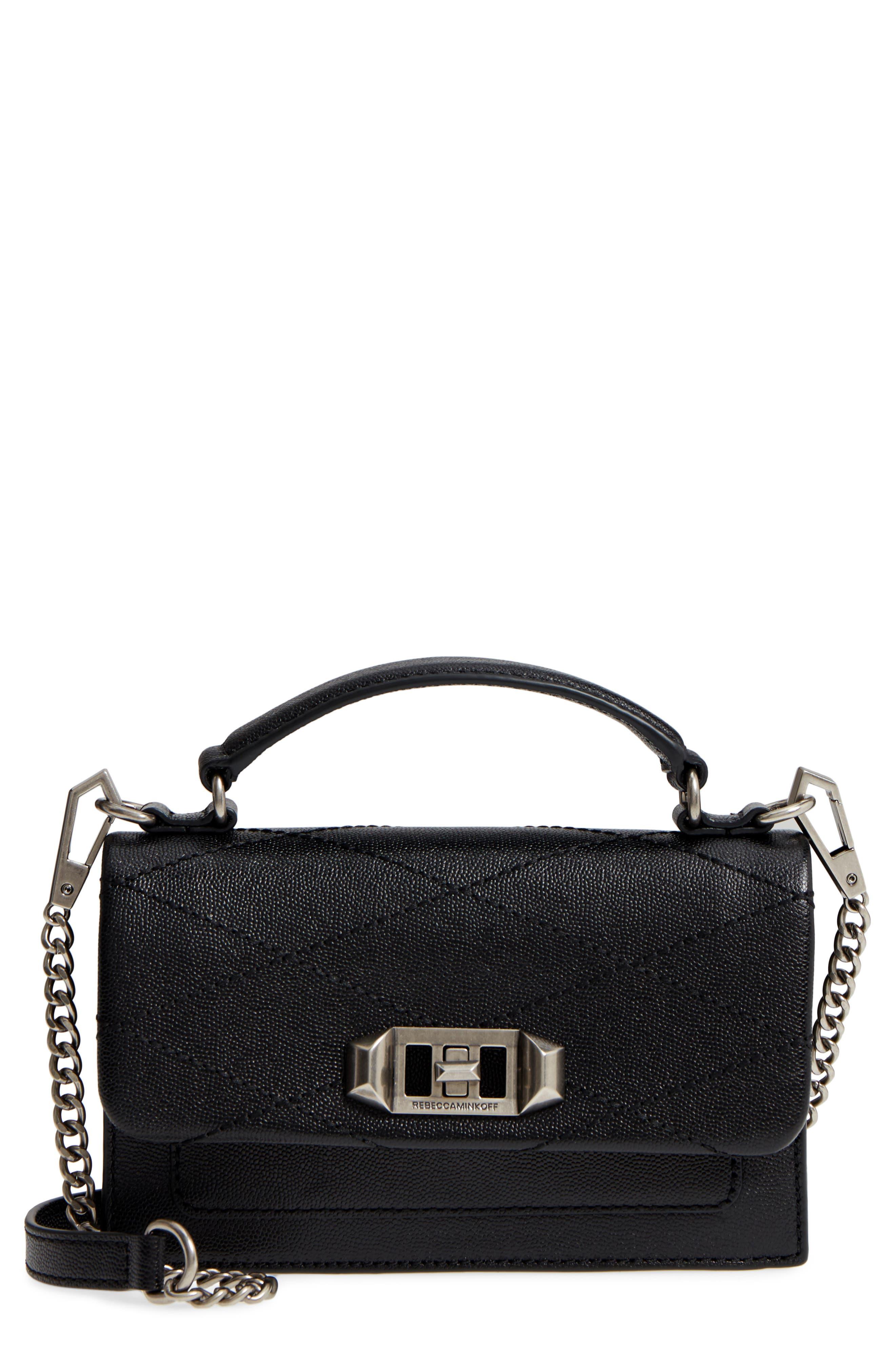 Small Je T'aime Leather Crossbody Bag,                         Main,                         color,