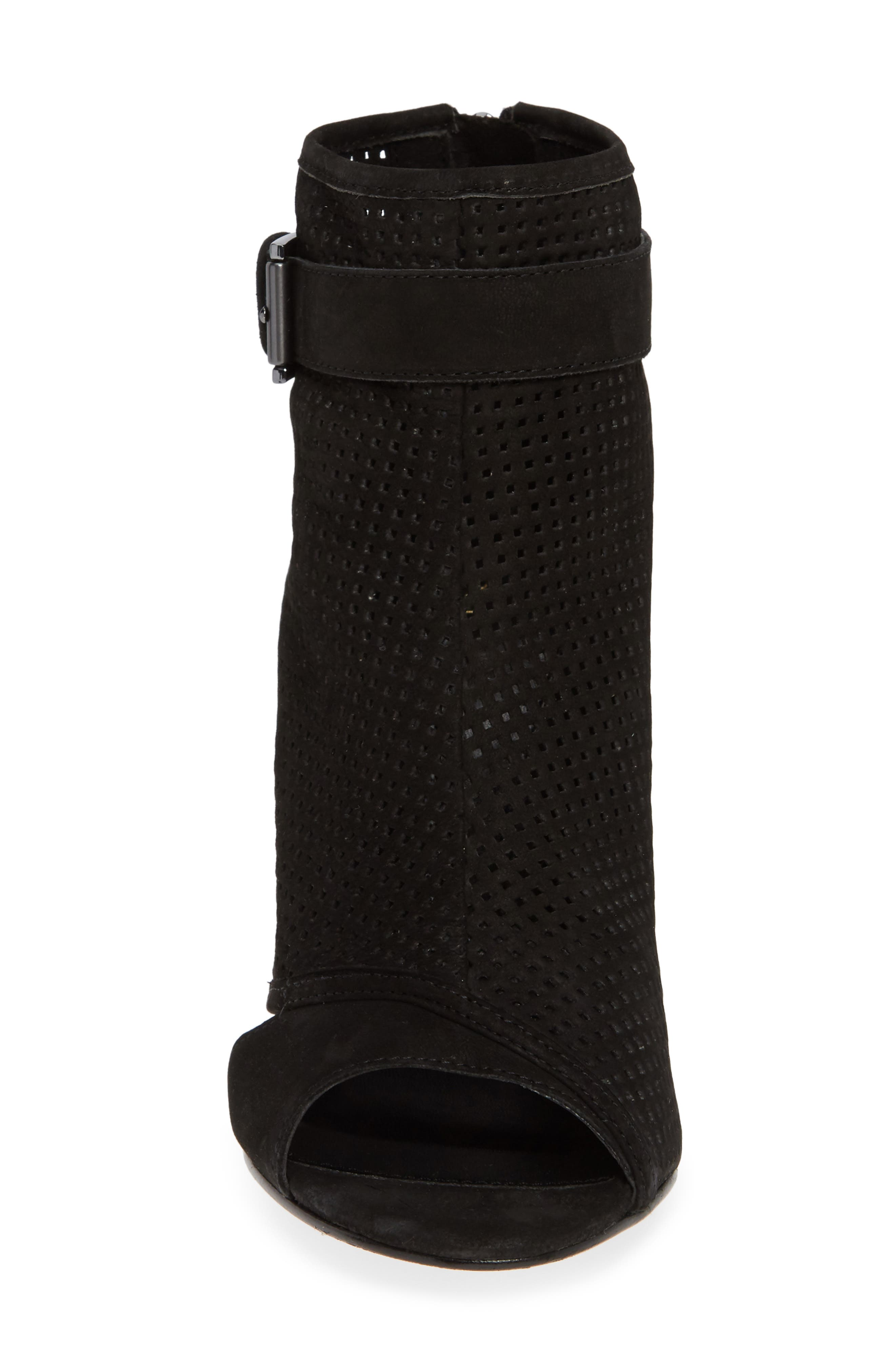 PELLE MODA,                             Kori Open Toe Bootie,                             Alternate thumbnail 4, color,                             001