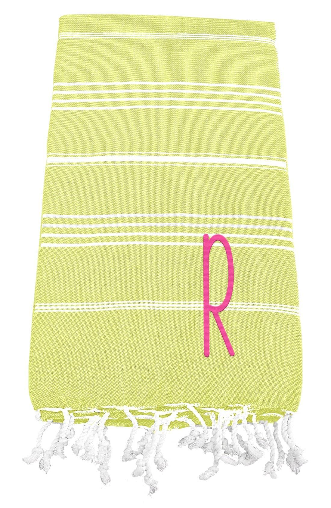 Monogram Turkish Cotton Towel,                             Main thumbnail 47, color,