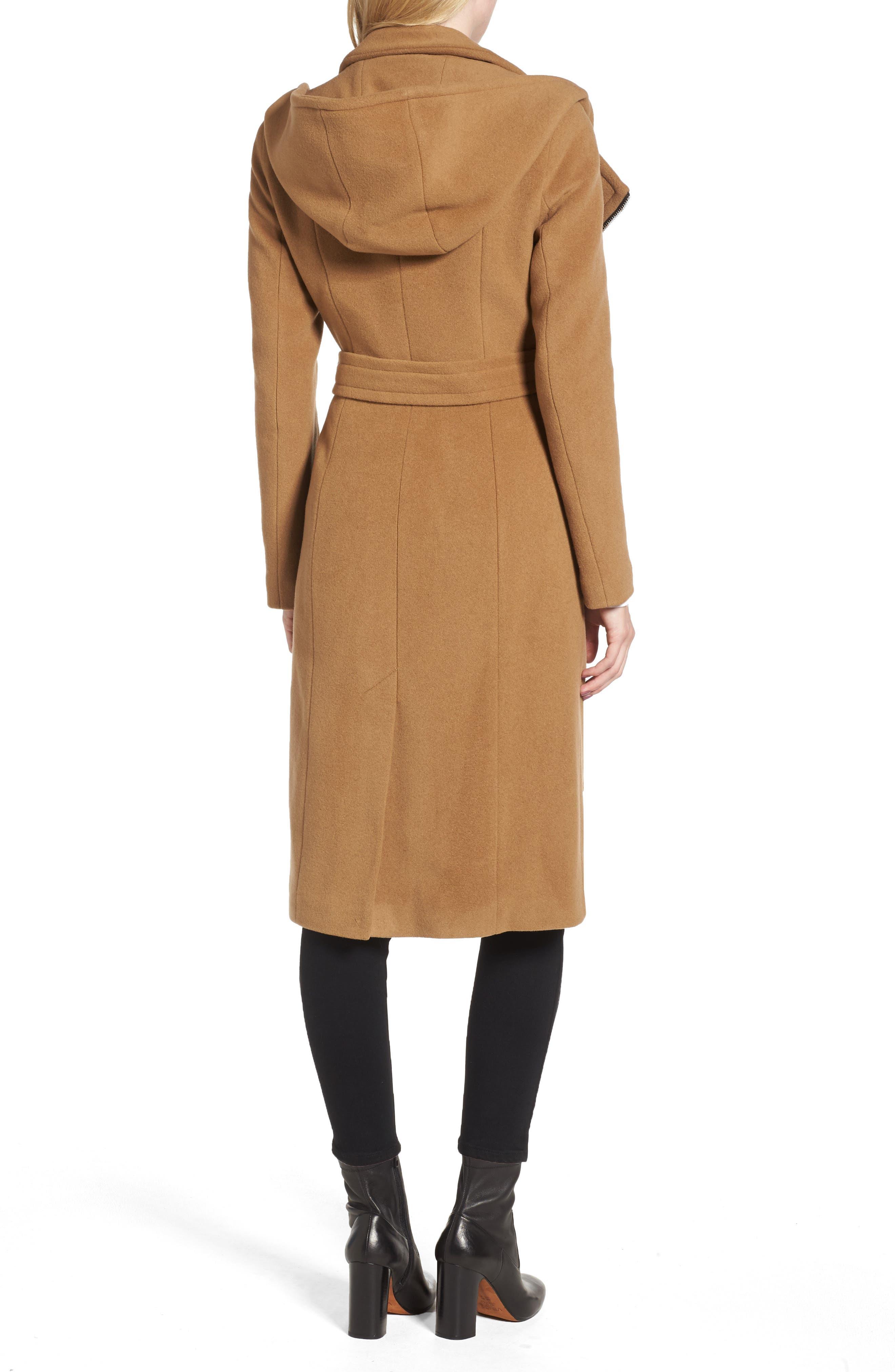 Janya Wool Blend Coat,                             Alternate thumbnail 2, color,                             253