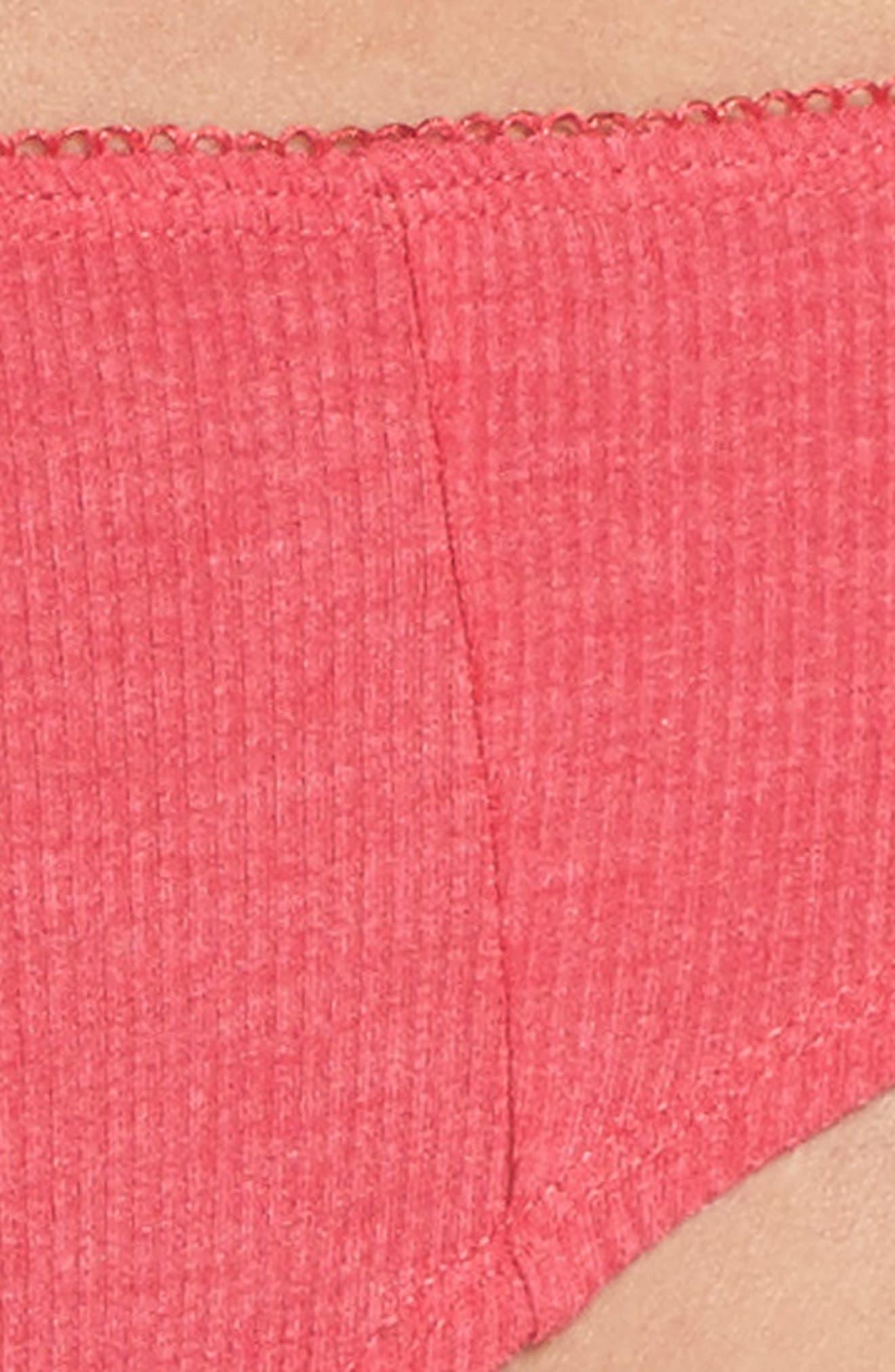 Rib Knit Bikini,                             Alternate thumbnail 32, color,