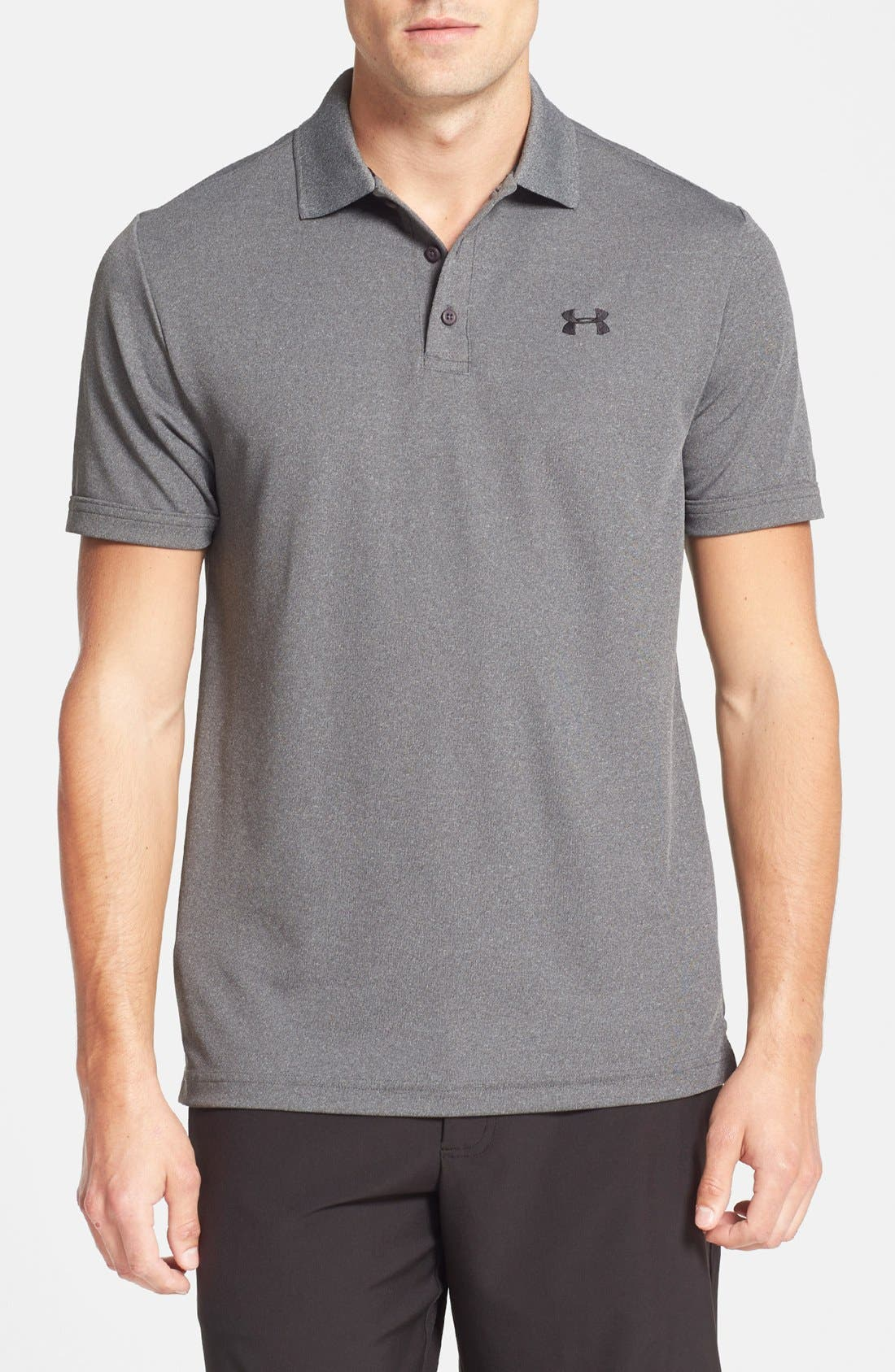 'Performance 2.0' Sweat Wicking Stretch Polo,                             Main thumbnail 1, color,                             090