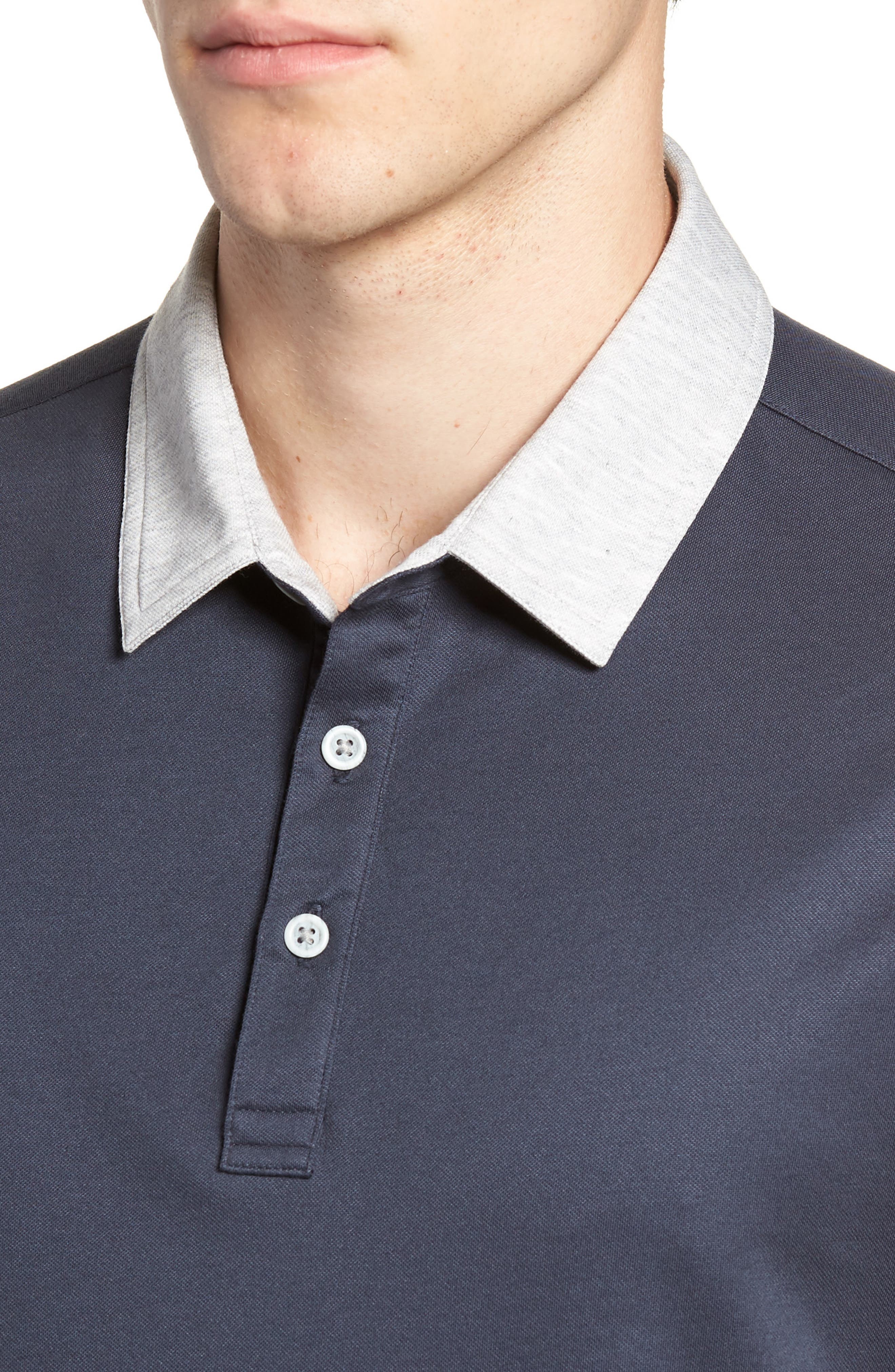 Pays for Itself Trim Fit Polo,                             Alternate thumbnail 4, color,                             400