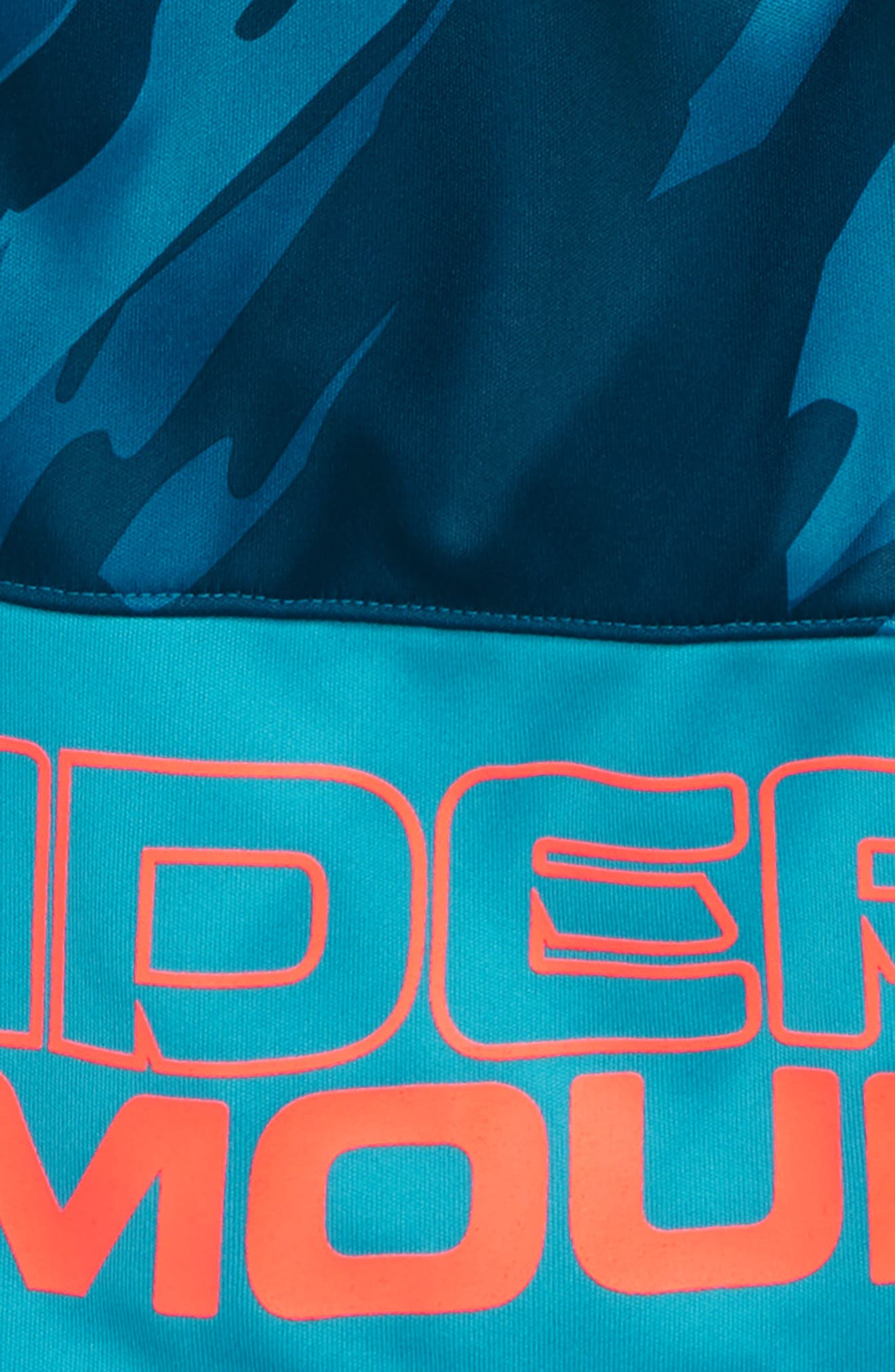 Stunt HeatGear<sup>®</sup> Shorts,                             Alternate thumbnail 3, color,                             DECEIT/ TECHNO TEAL