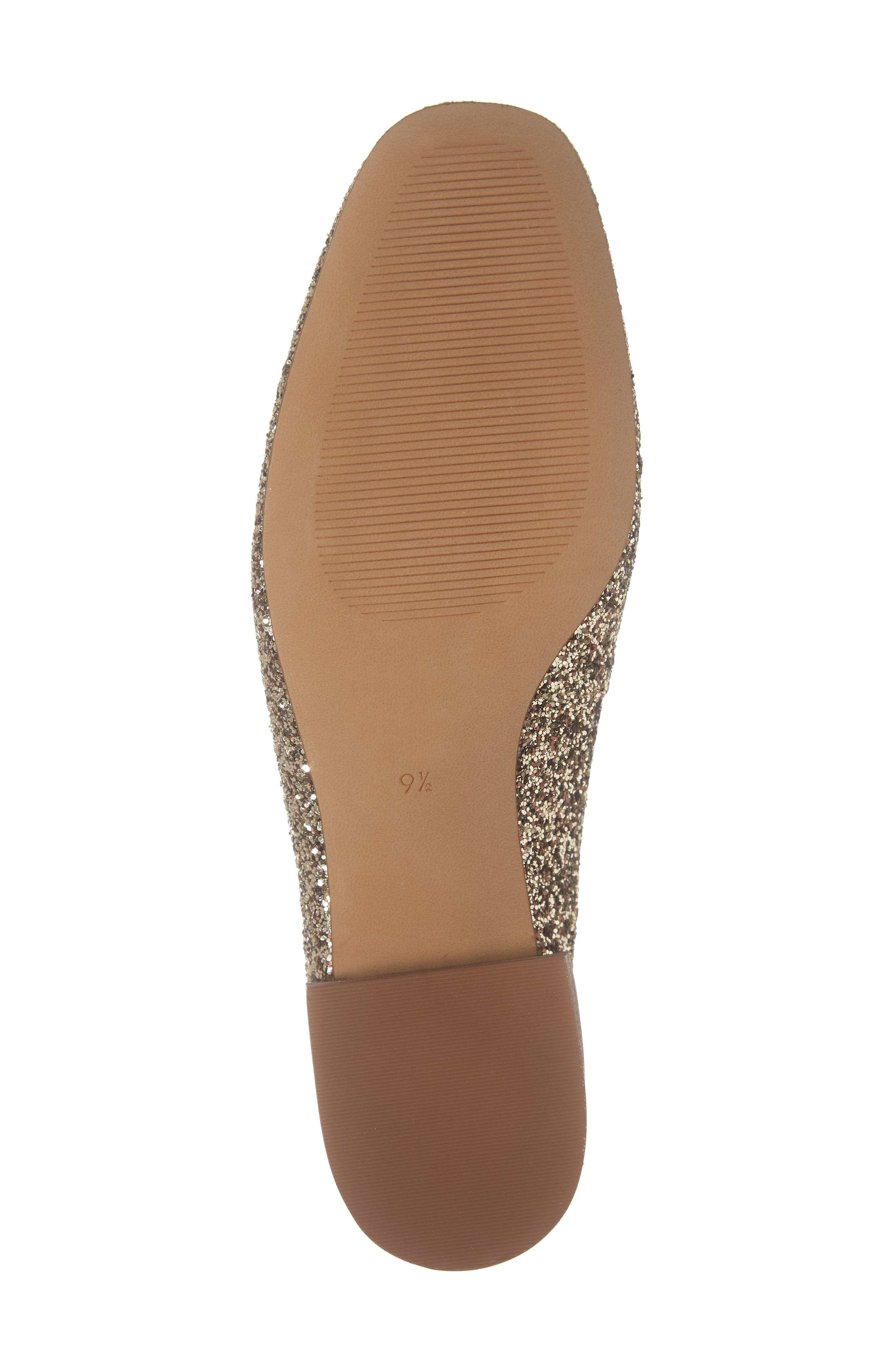 The Willa Loafer Mule,                             Alternate thumbnail 6, color,                             SMOKY GOLD
