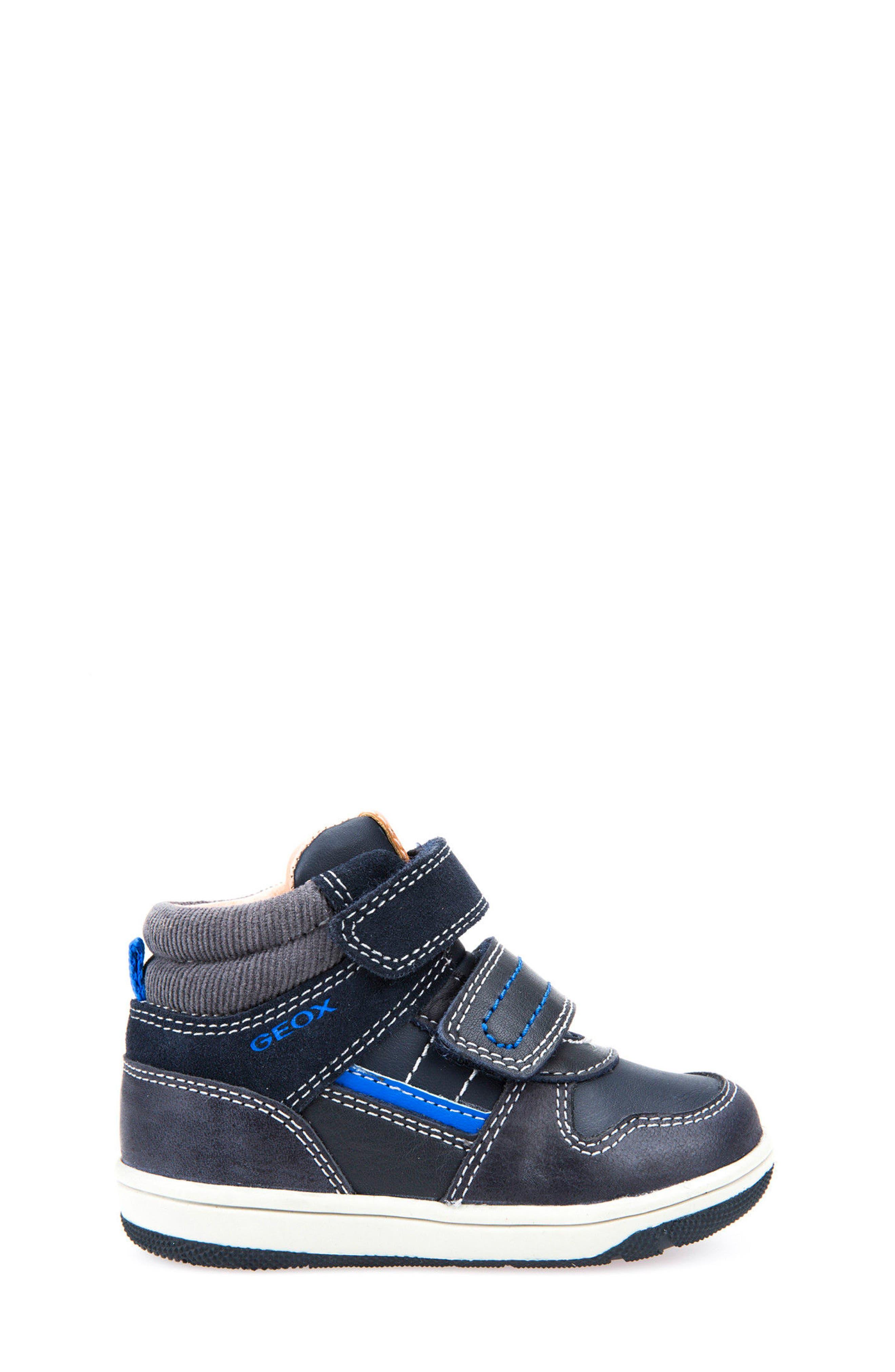 New Flick Mid Top Sneaker,                             Alternate thumbnail 3, color,                             002