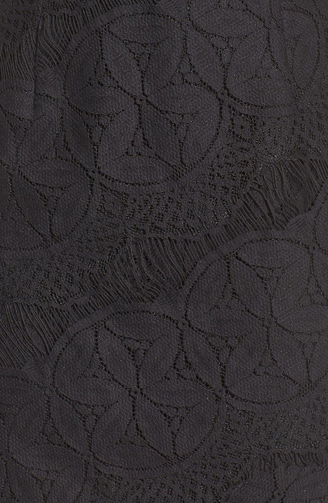 Lace High/Low Sheath Dress,                             Alternate thumbnail 20, color,
