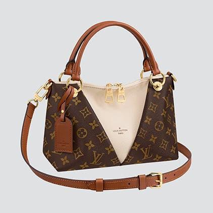 Louis Vuitton handbags.