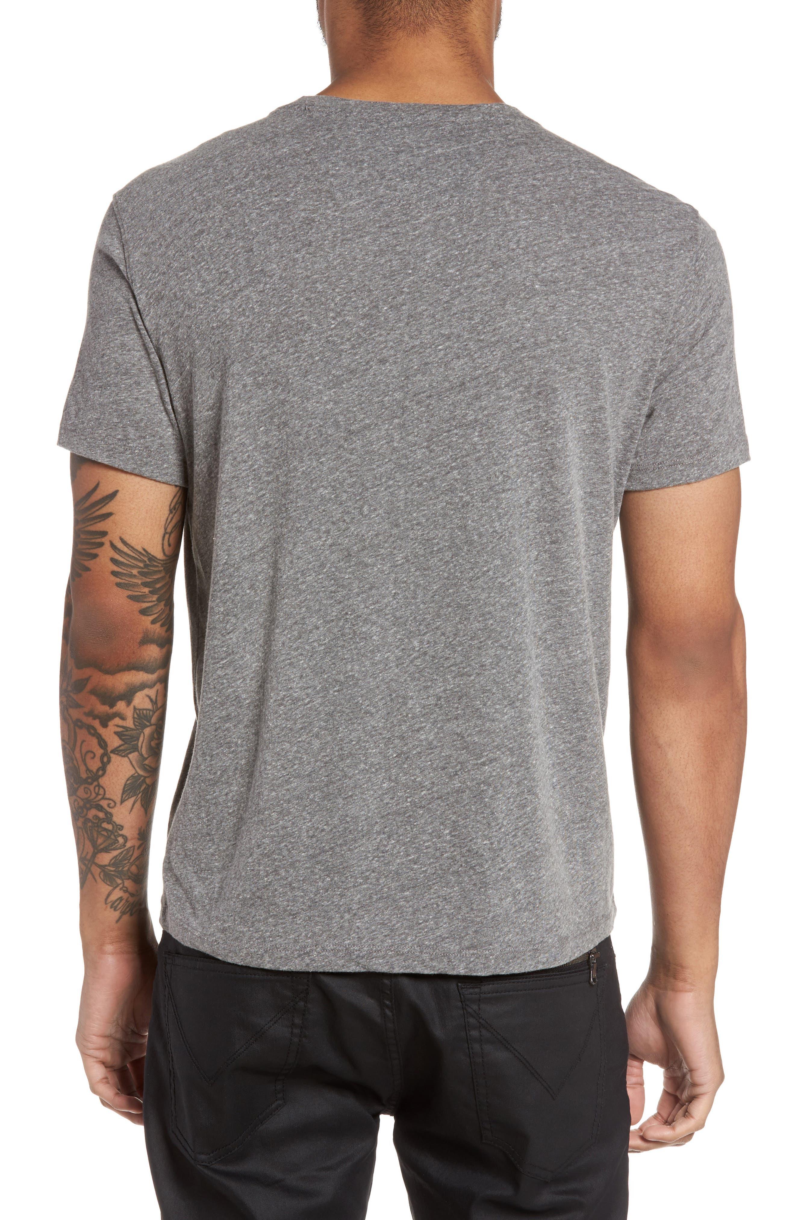 Top Hat Skull Graphic T-Shirt,                             Alternate thumbnail 2, color,                             073