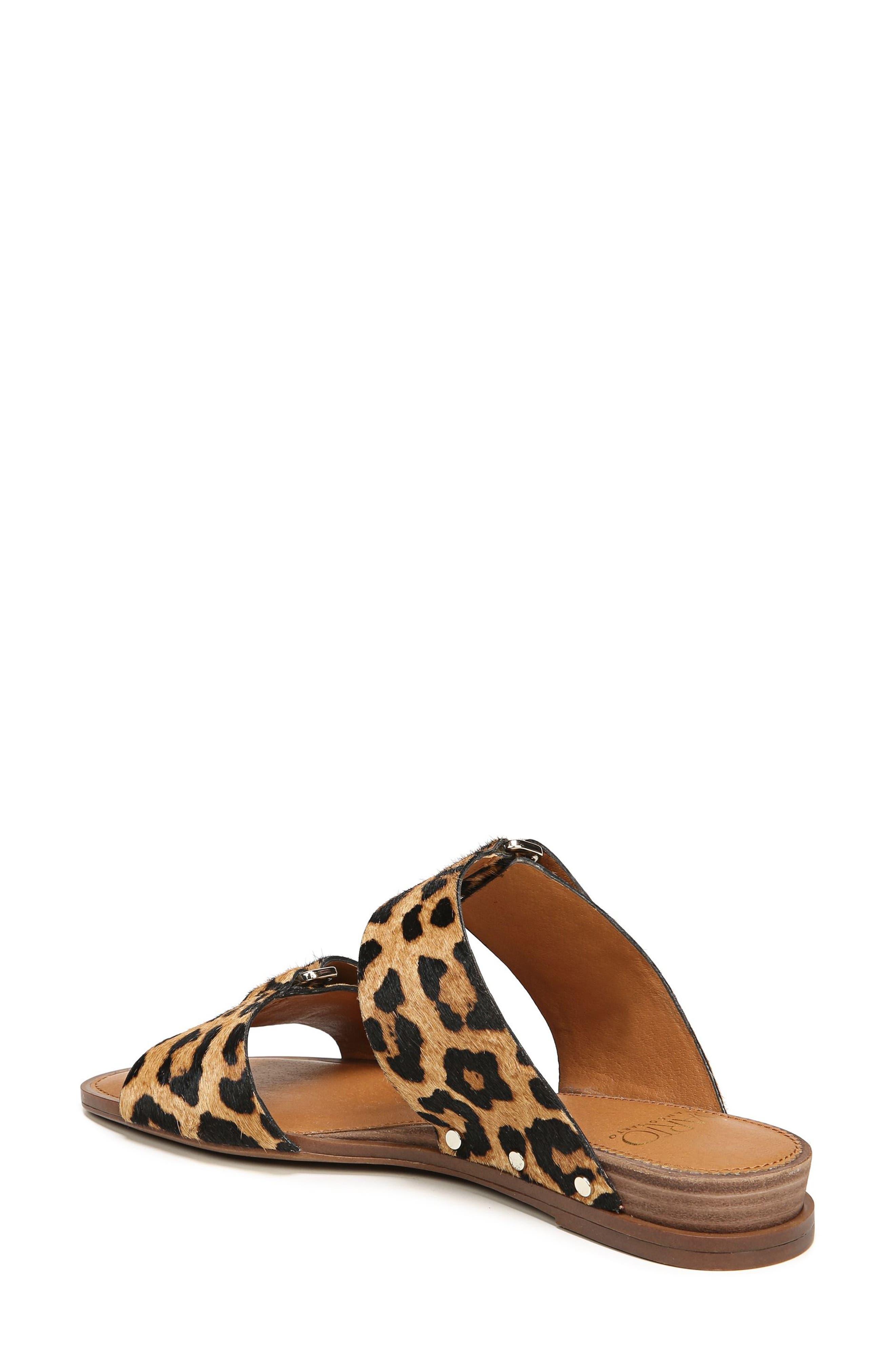 Palomino Genuine Calf Hair Sandal,                             Alternate thumbnail 8, color,
