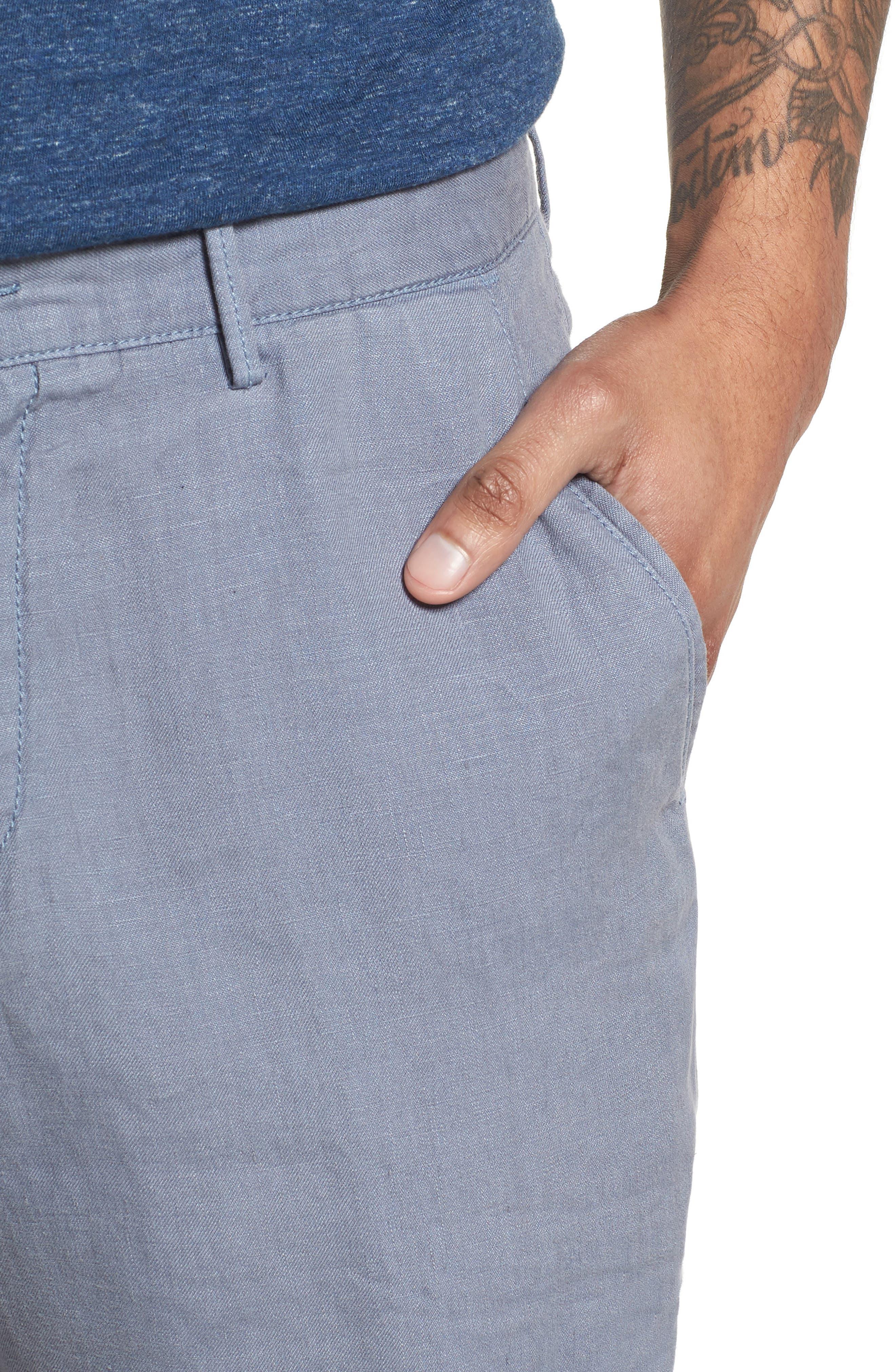 Crigan Linen Shorts,                             Alternate thumbnail 16, color,