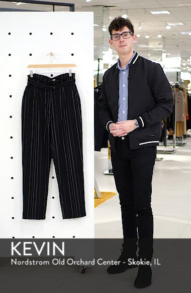High Rise Belted Paperbag Pants, sales video thumbnail