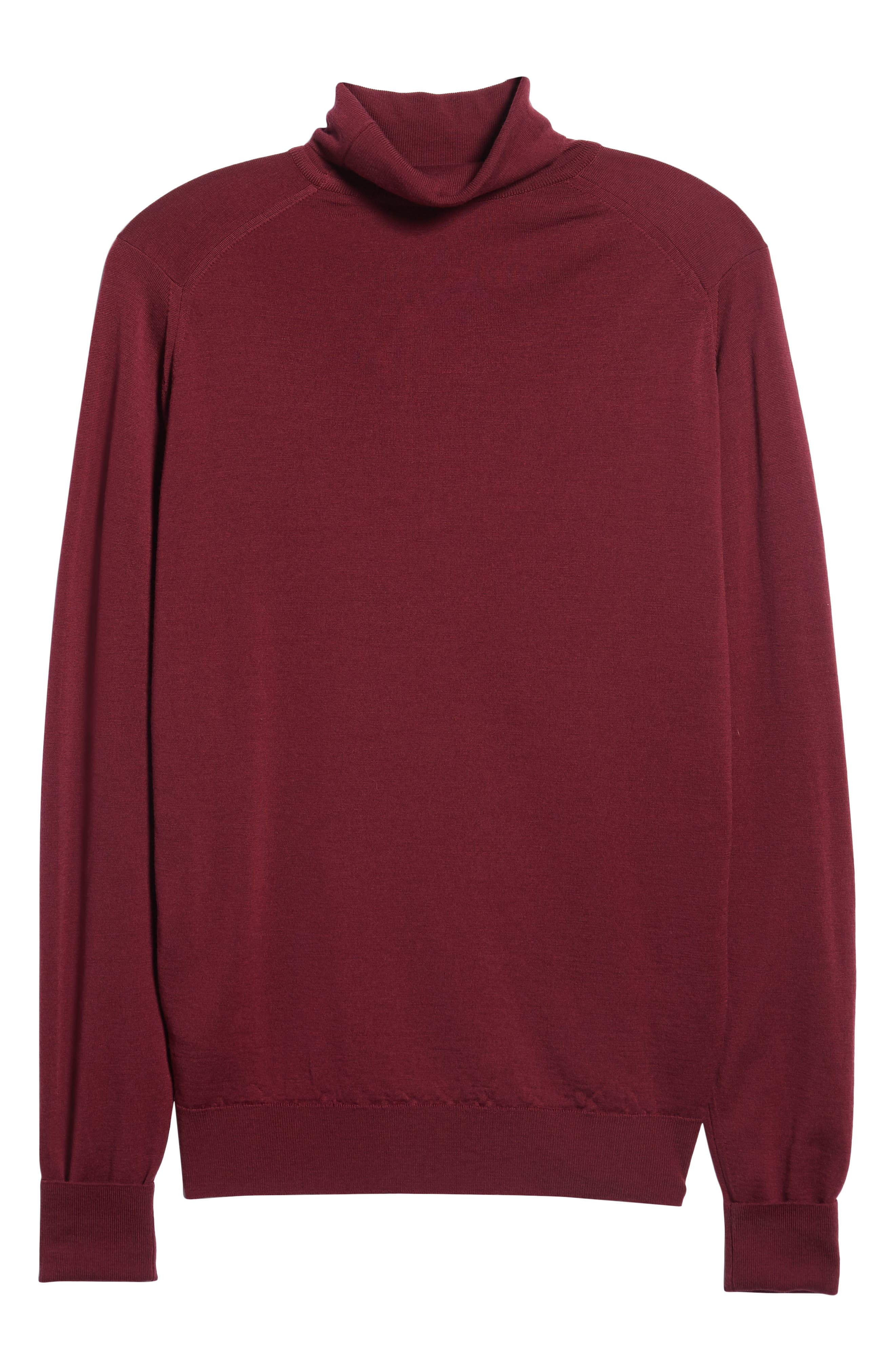'Richards' Easy Fit Turtleneck Wool Sweater,                             Alternate thumbnail 44, color,