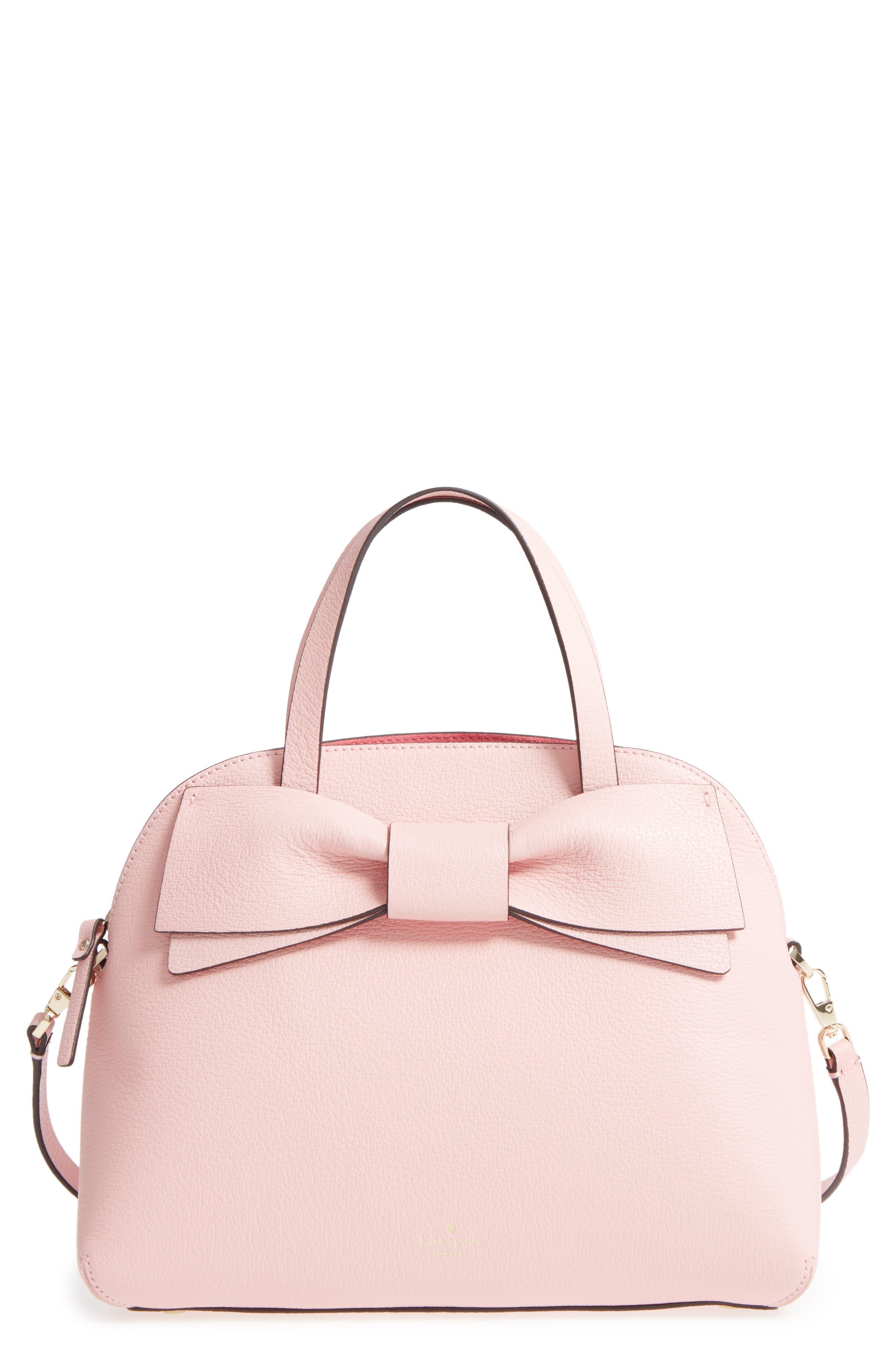 olive drive lottie leather satchel,                             Main thumbnail 2, color,