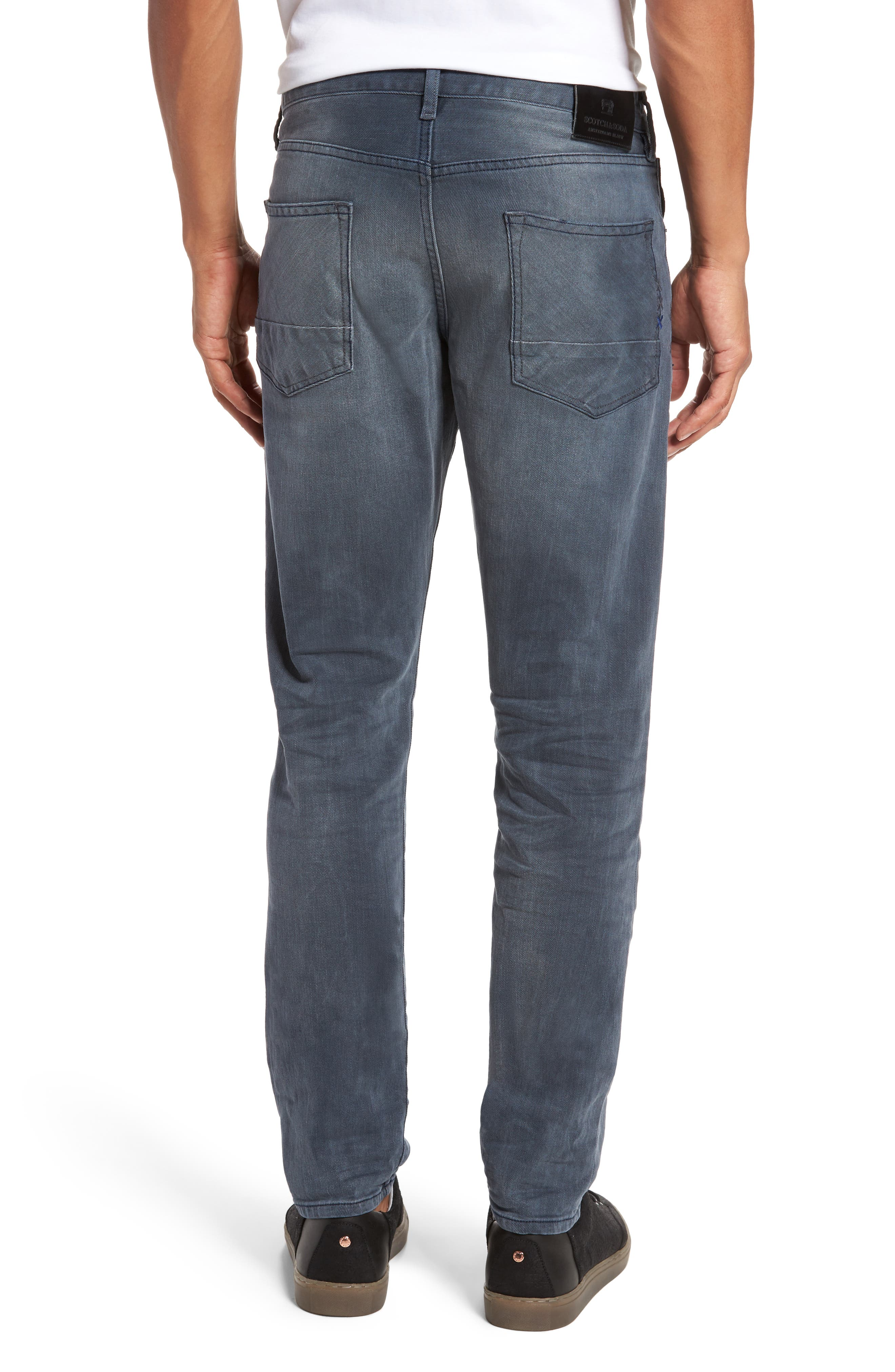 Ralston Slim Straight Leg Jeans,                             Alternate thumbnail 2, color,                             CONCRETE BLEACH