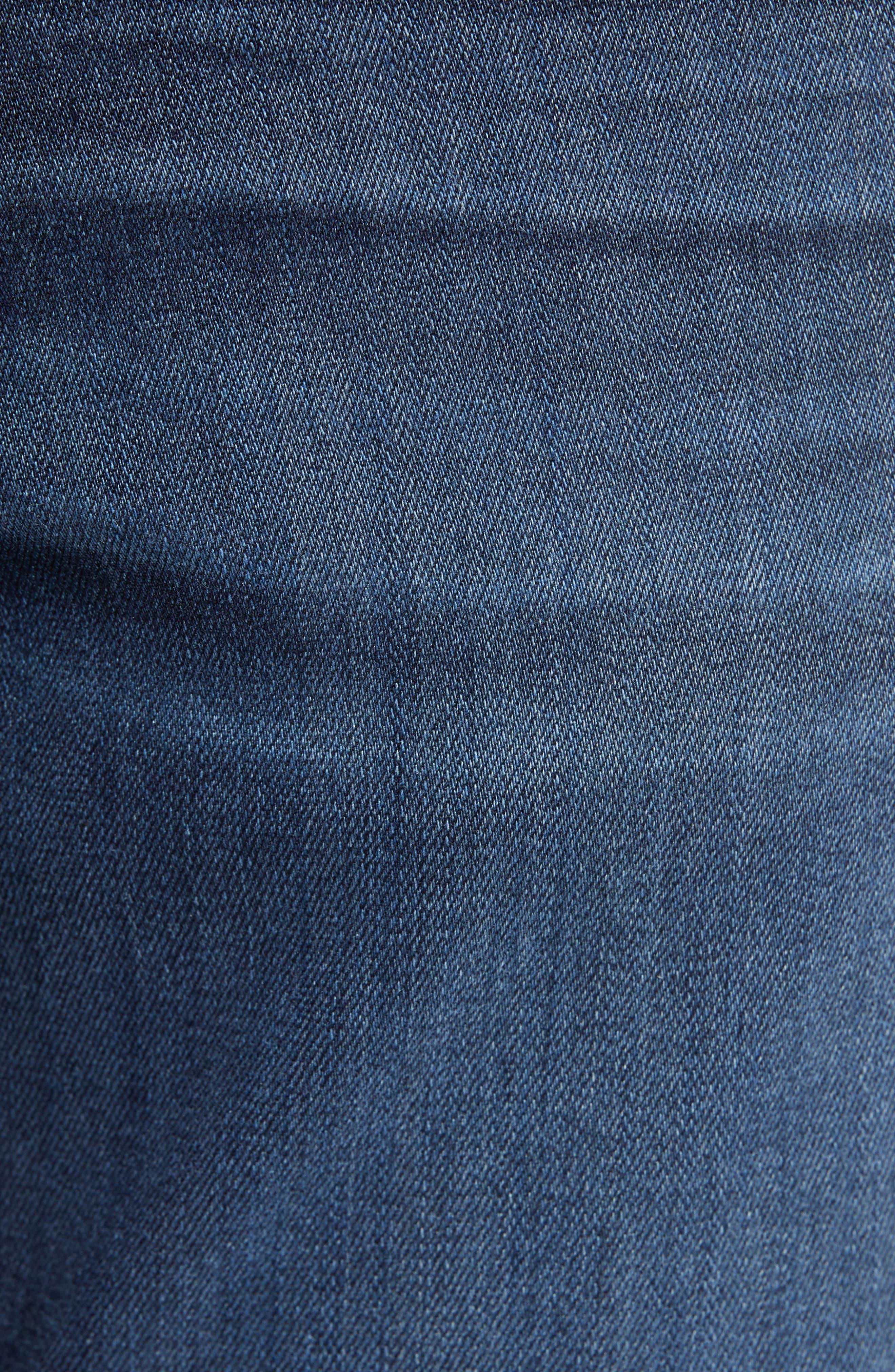 Transcend - Croft Skinny Fit Jeans,                             Alternate thumbnail 5, color,                             HUXLEY