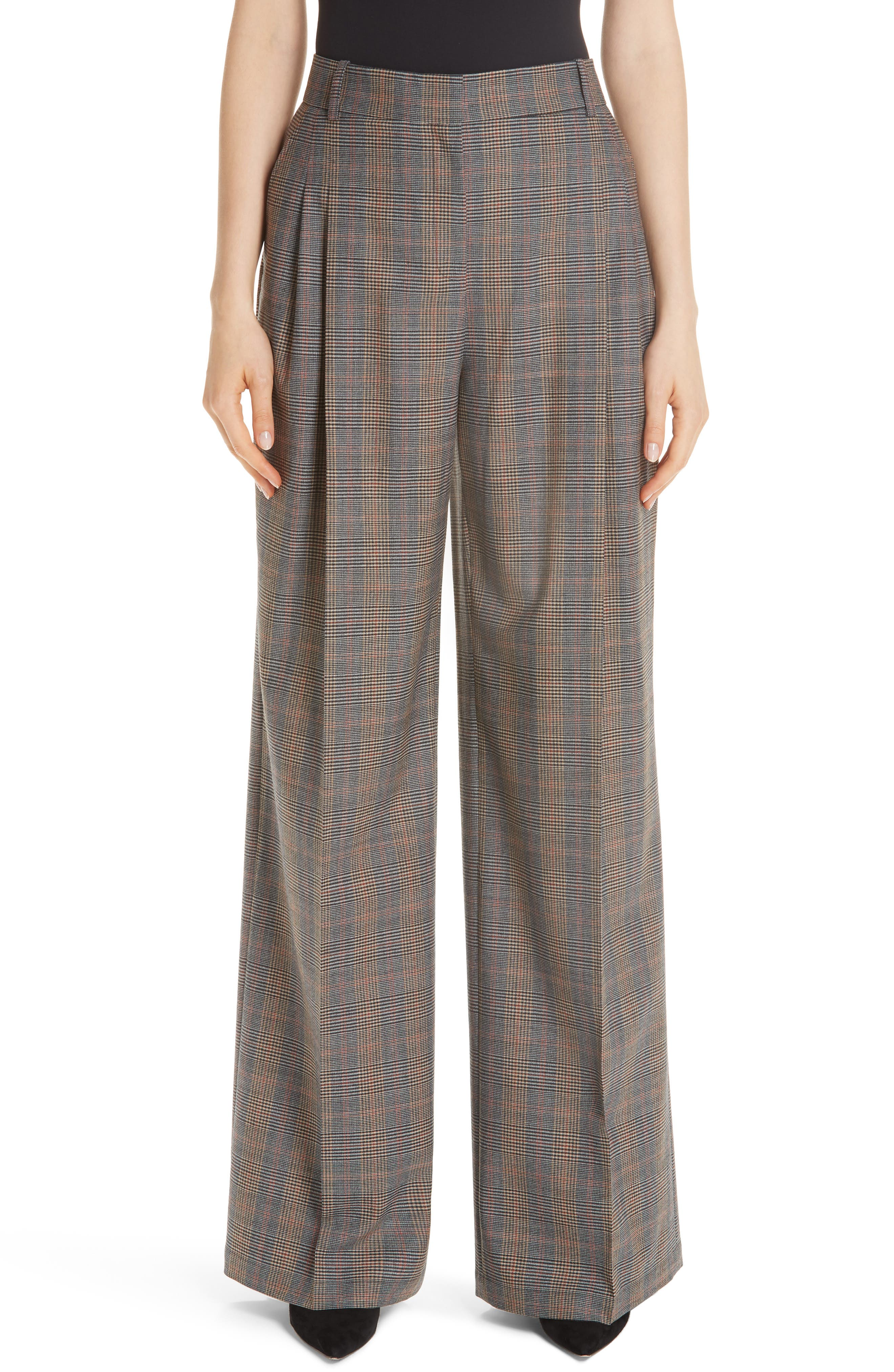 Quincy Stretch Wool Pants,                             Main thumbnail 1, color,                             SUNSTONE MULTI