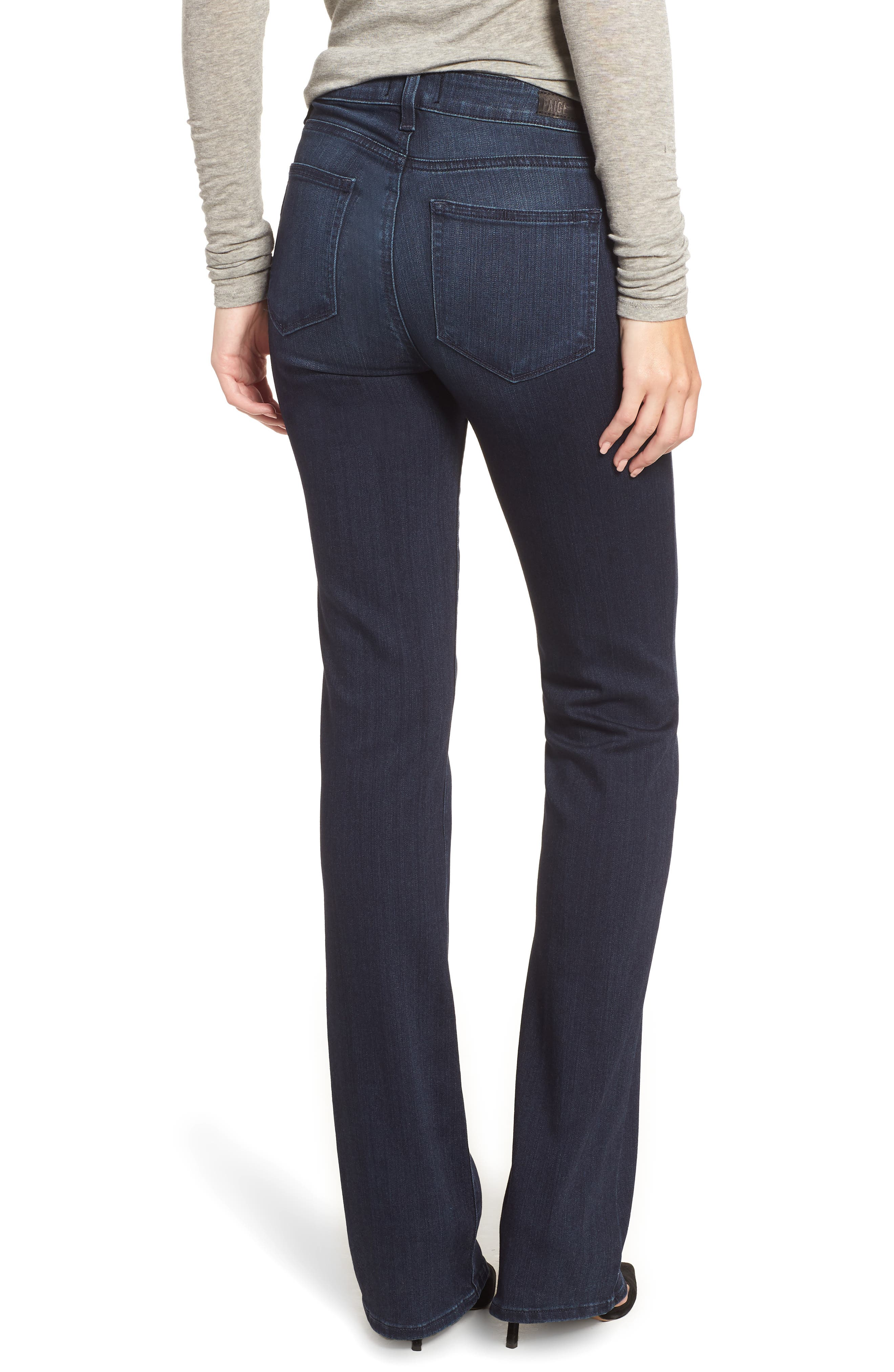 Manhattan High Waist Bootcut Jeans,                             Alternate thumbnail 2, color,                             401