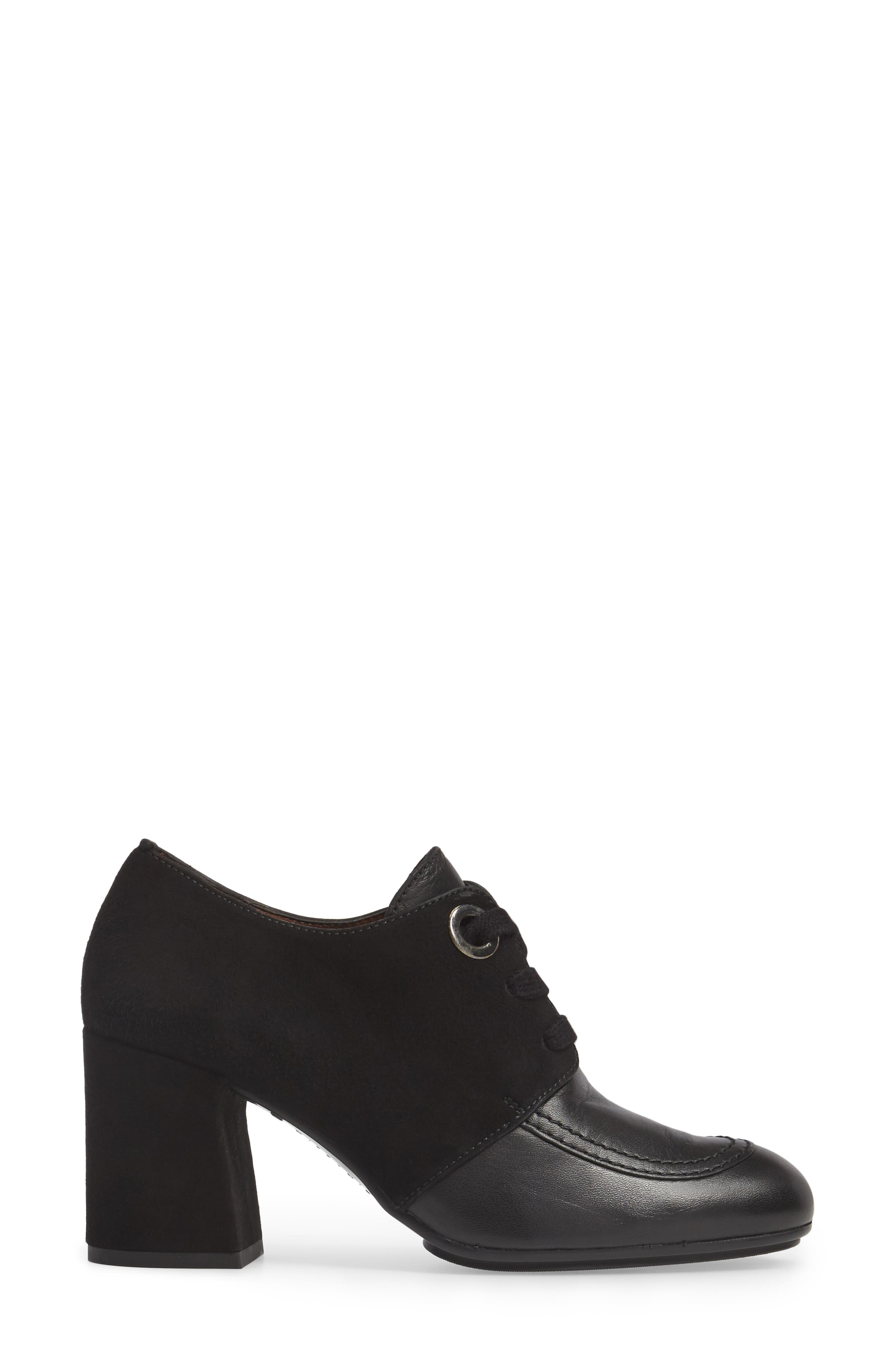 Glenna Oxford Pump,                             Alternate thumbnail 3, color,                             001