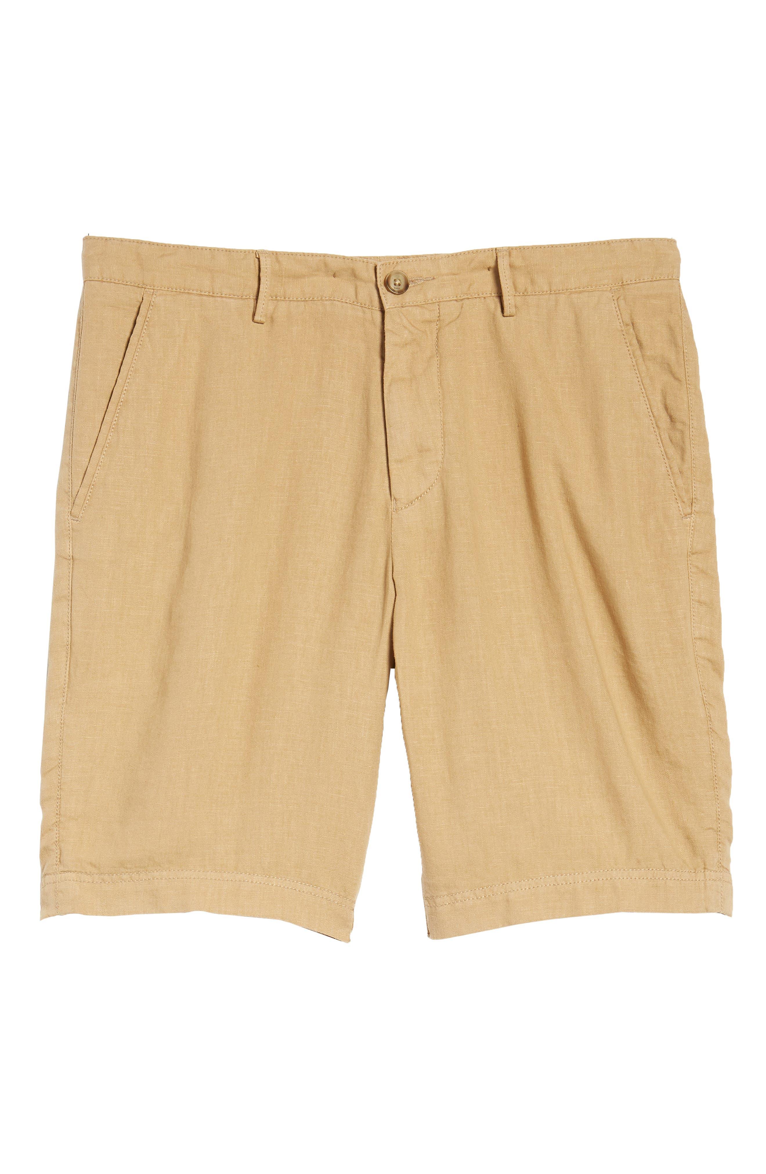 Crigan Linen Shorts,                             Alternate thumbnail 29, color,
