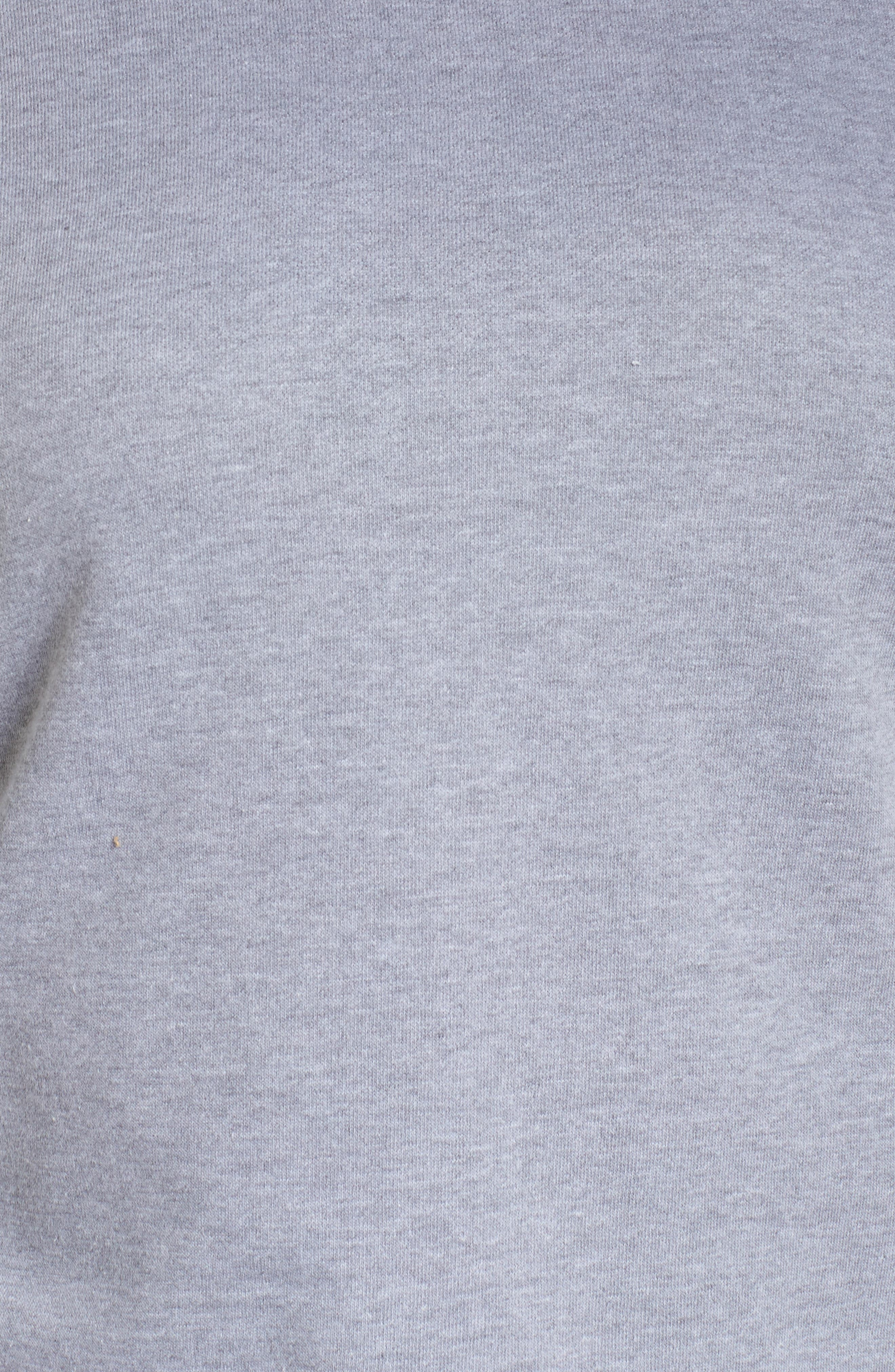 Broderie Anglaise Embellished Sweatshirt,                             Alternate thumbnail 5, color,                             020