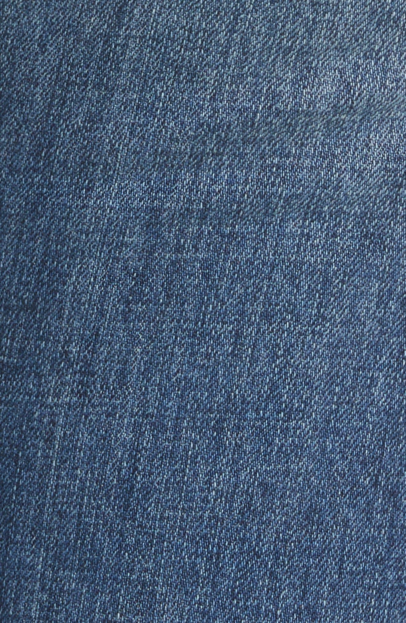 Slim Boyfriend Jeans,                             Alternate thumbnail 5, color,                             400