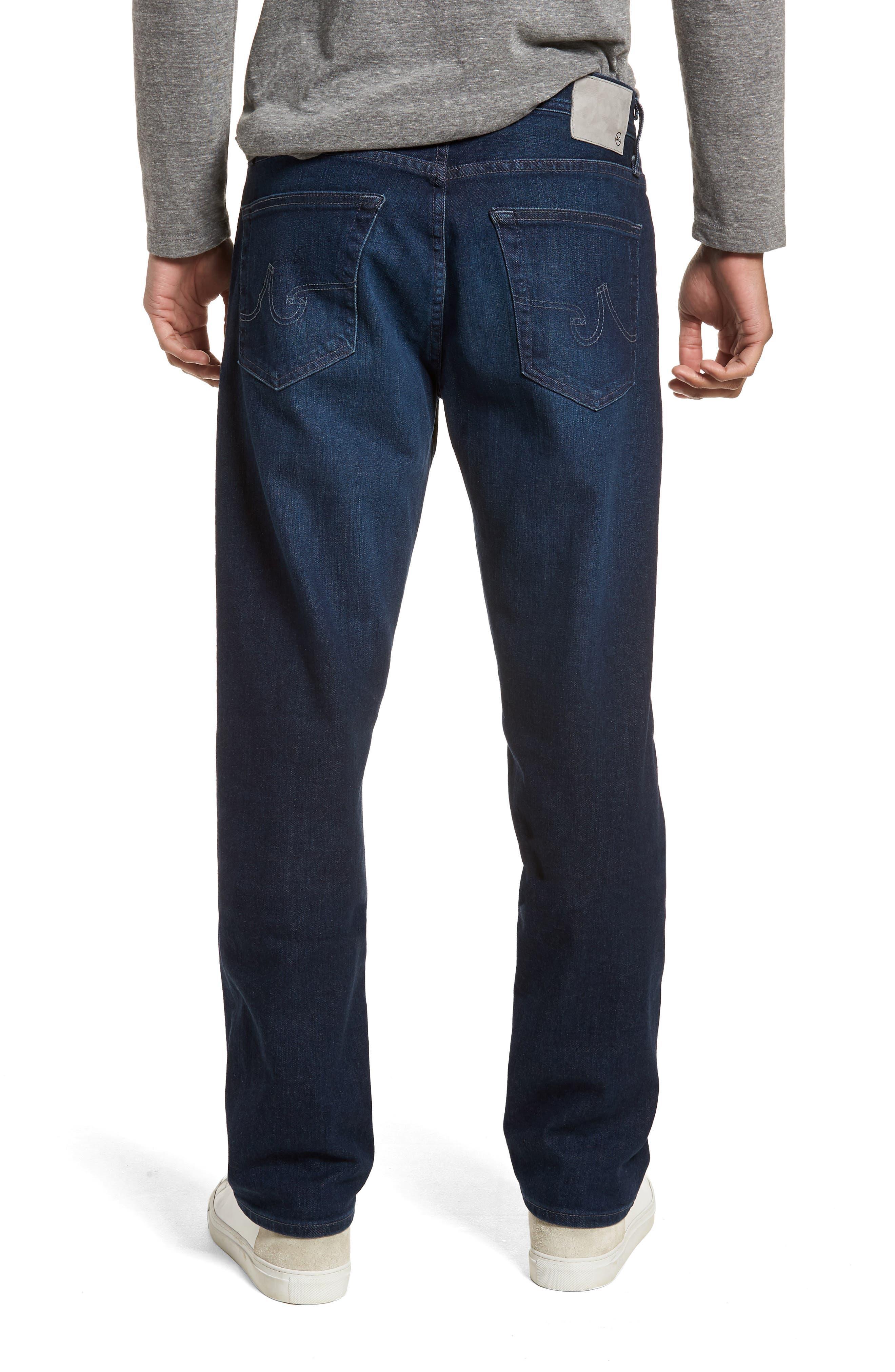 Ives Straight Leg Jeans,                             Alternate thumbnail 2, color,                             407