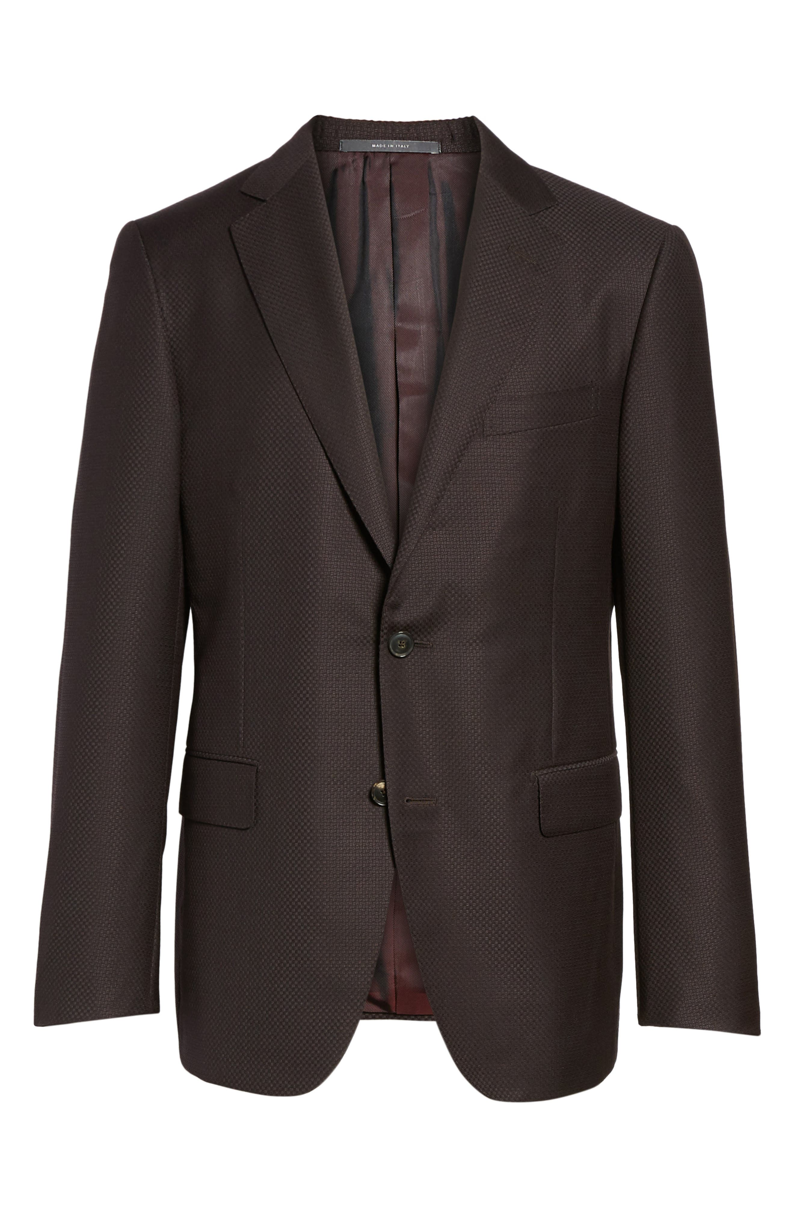 Classic Fit Wool Blazer,                             Alternate thumbnail 5, color,                             932