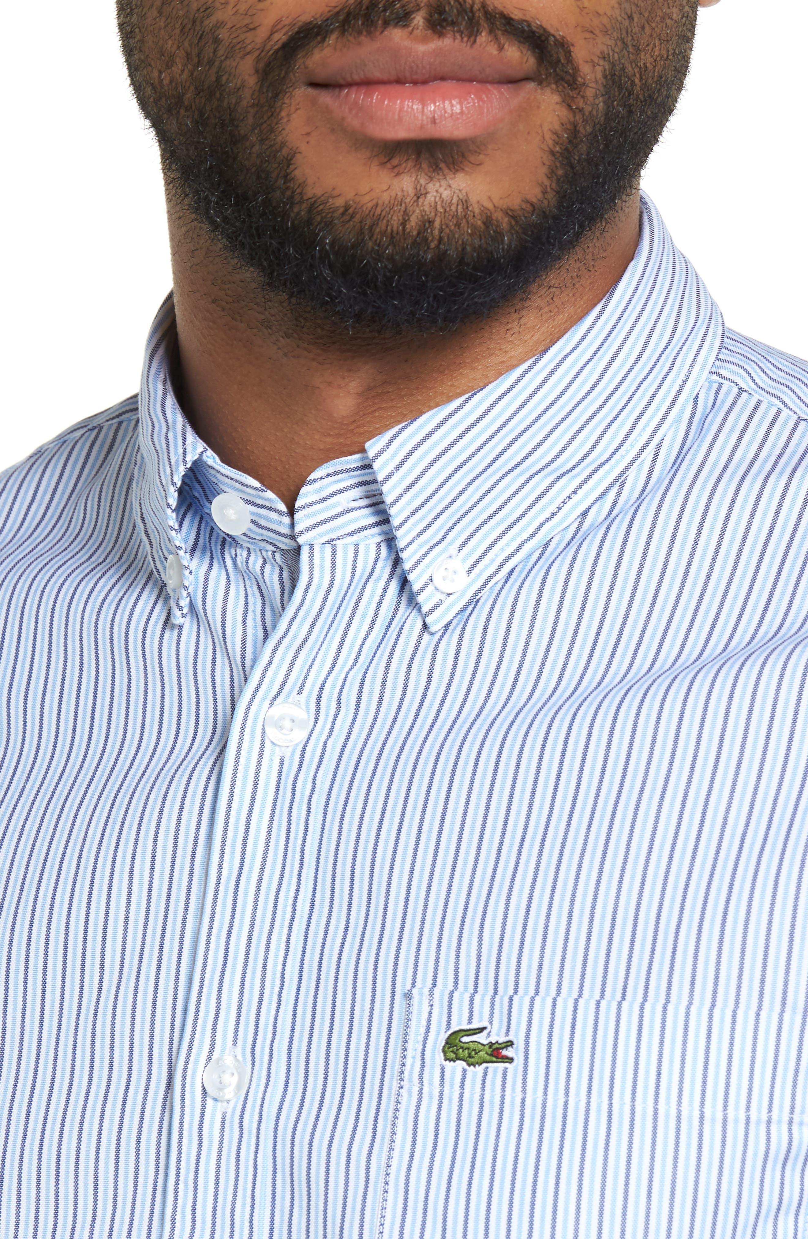 Button-Down Sport Shirt,                             Alternate thumbnail 4, color,                             435