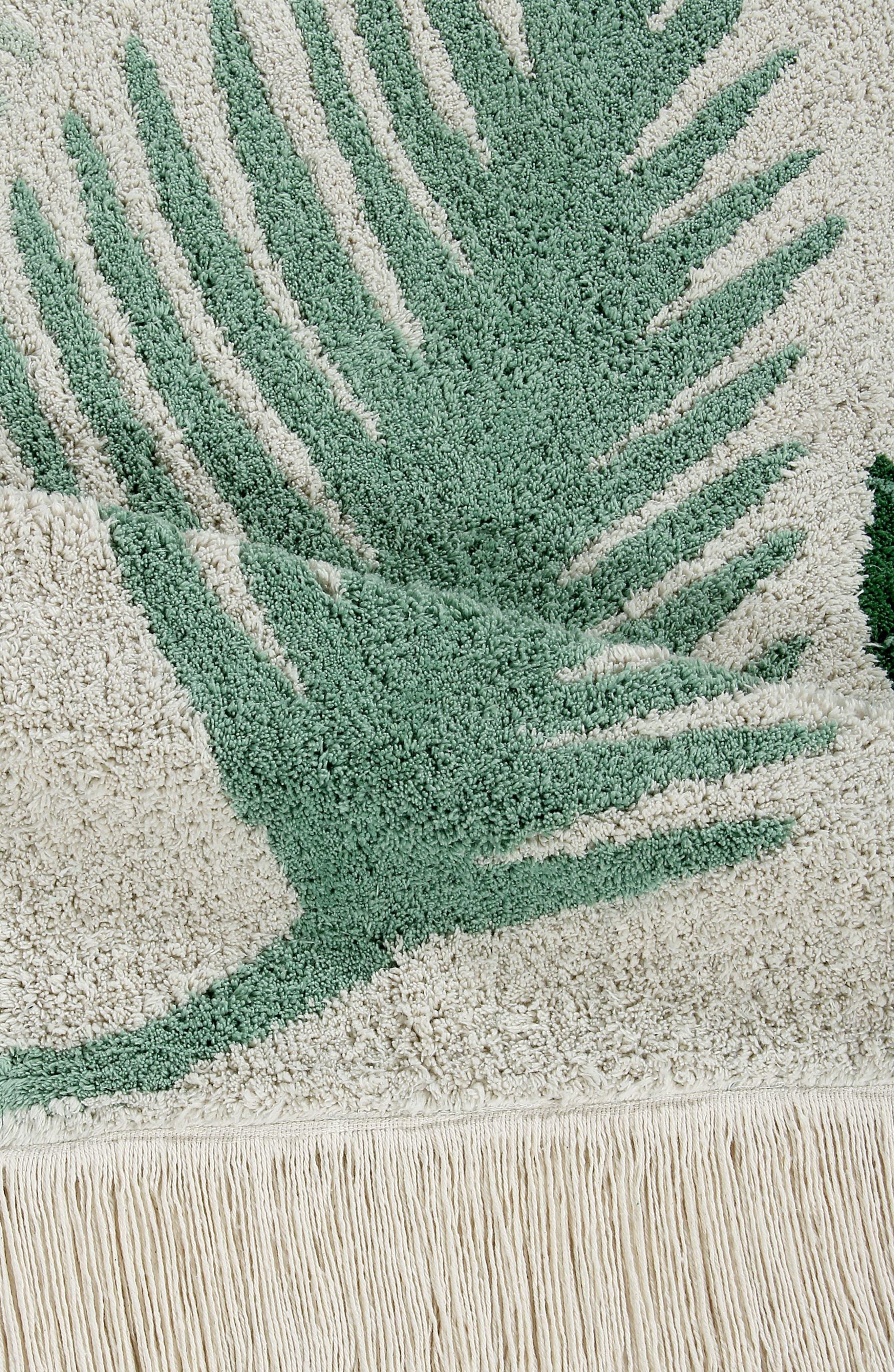 Tropical Rug,                             Alternate thumbnail 3, color,                             TROPICAL GREEN