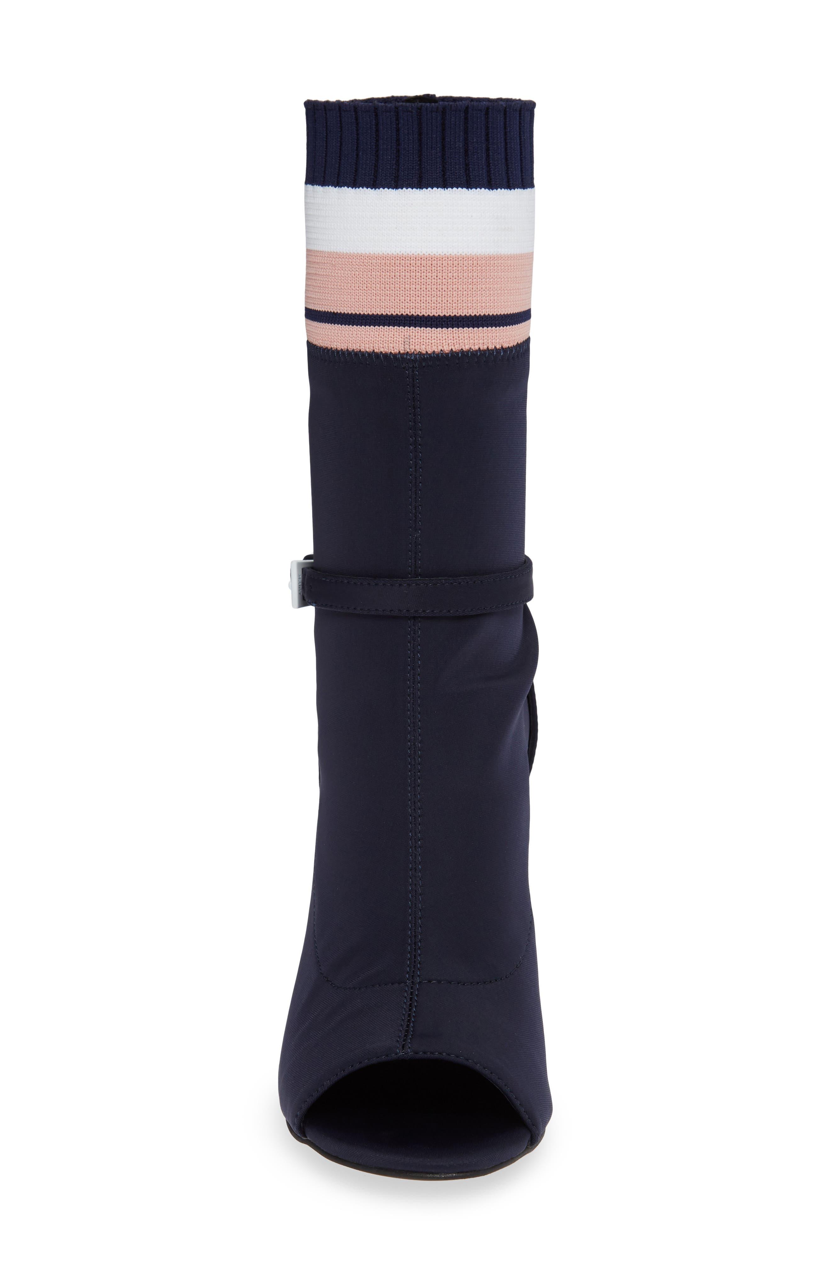 Nila-2 Sock Bootie,                             Alternate thumbnail 4, color,                             487
