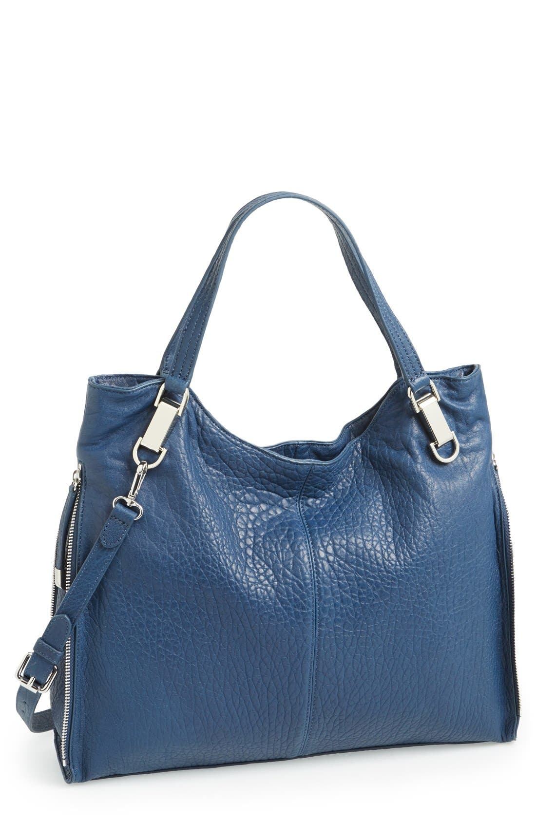 'Riley' Leather Tote,                             Main thumbnail 21, color,