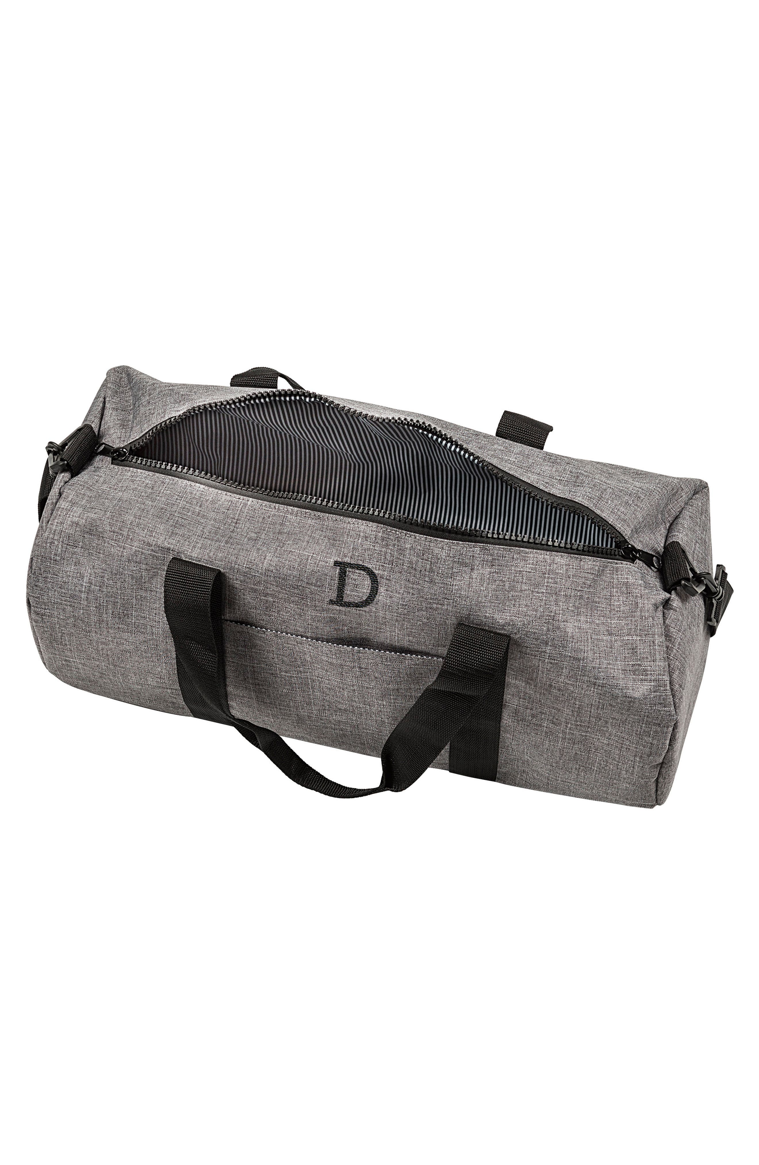 Monogram Duffel Bag,                             Alternate thumbnail 2, color,                             GREY
