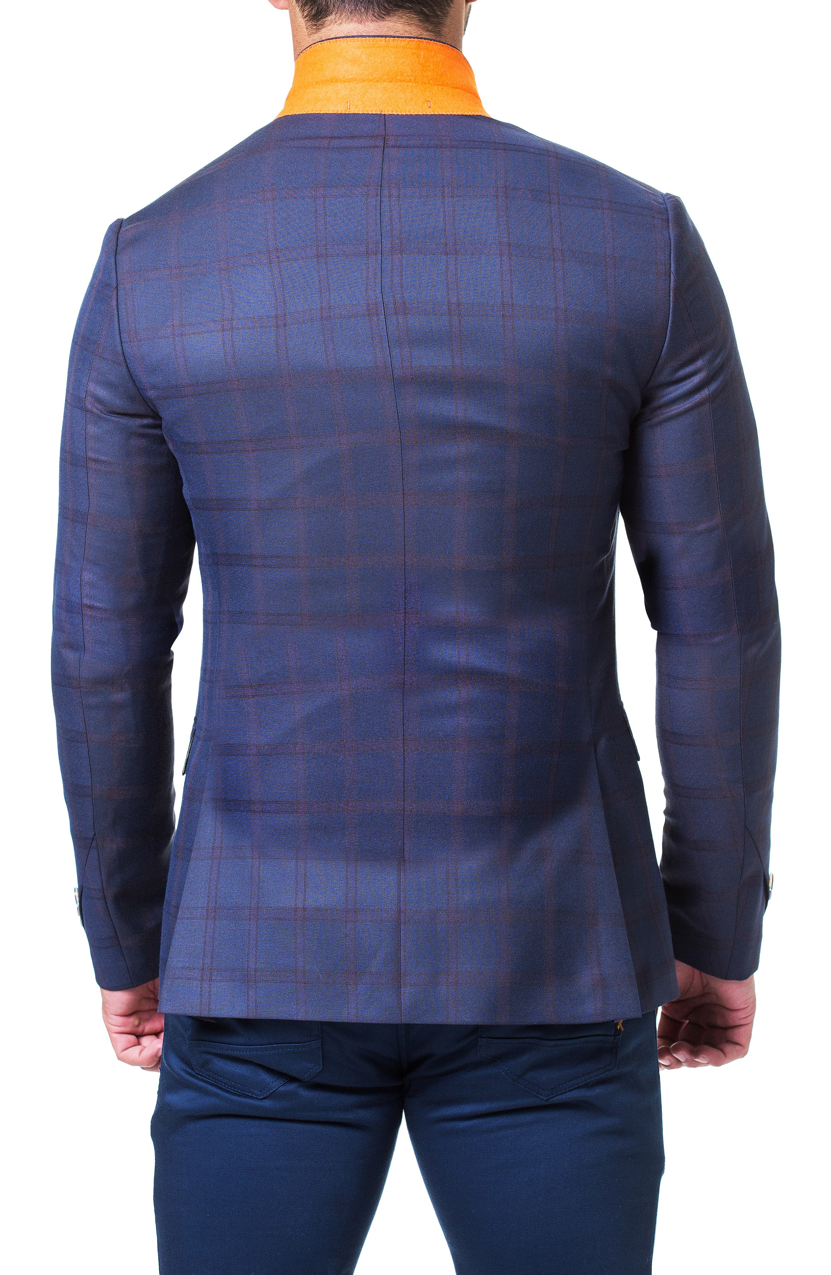 Dapper Sport Coat,                             Alternate thumbnail 4, color,                             BLUE