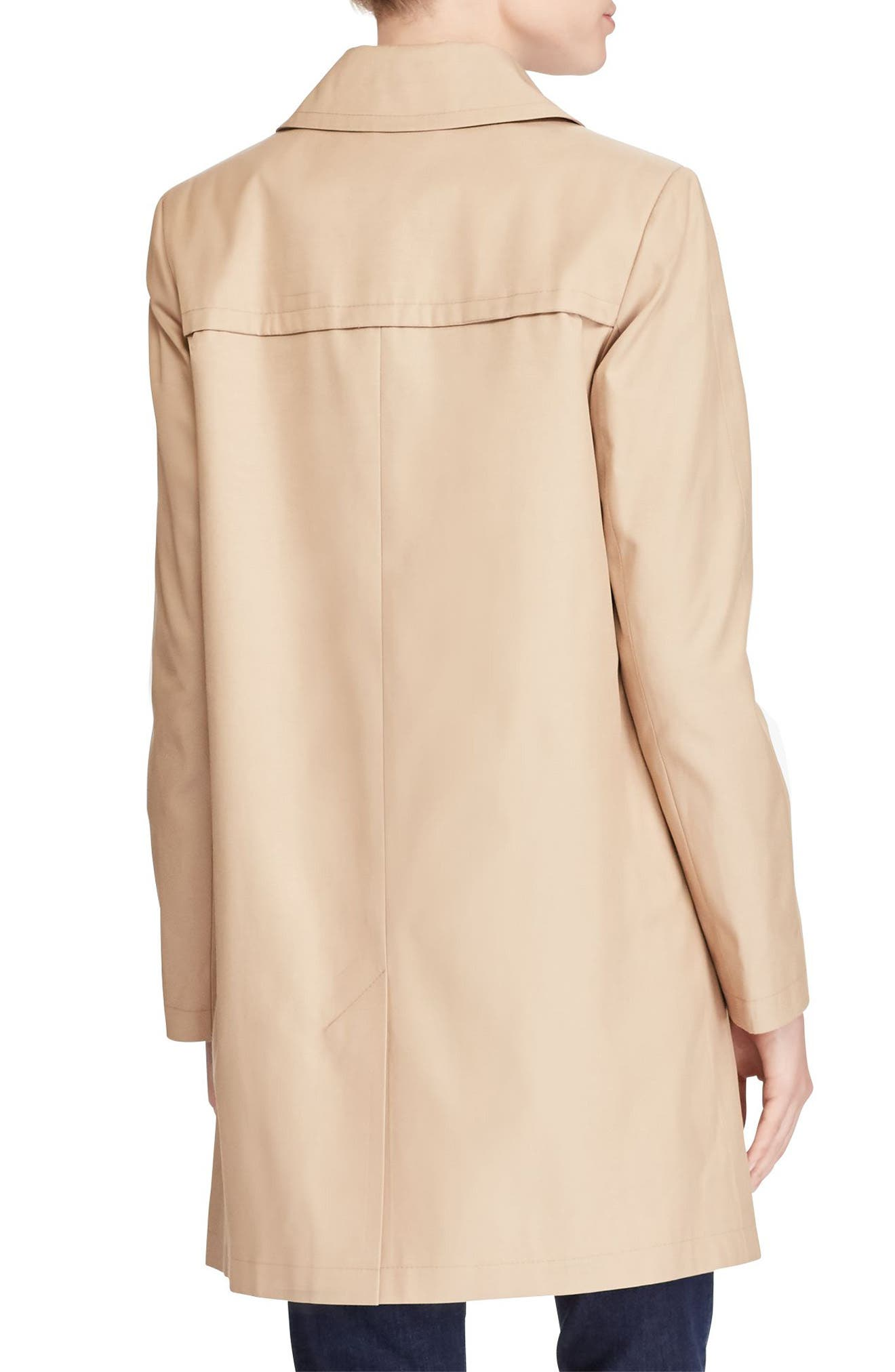 A-Line Trench Coat,                             Alternate thumbnail 5, color,