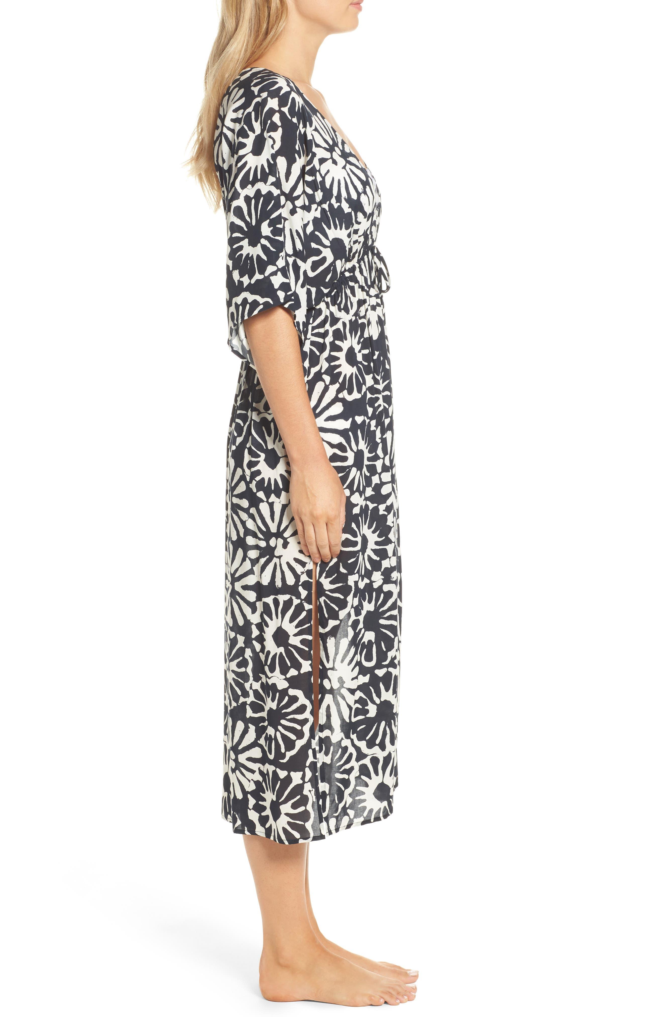Pomelo Floral Cover-Up Dress,                             Alternate thumbnail 3, color,