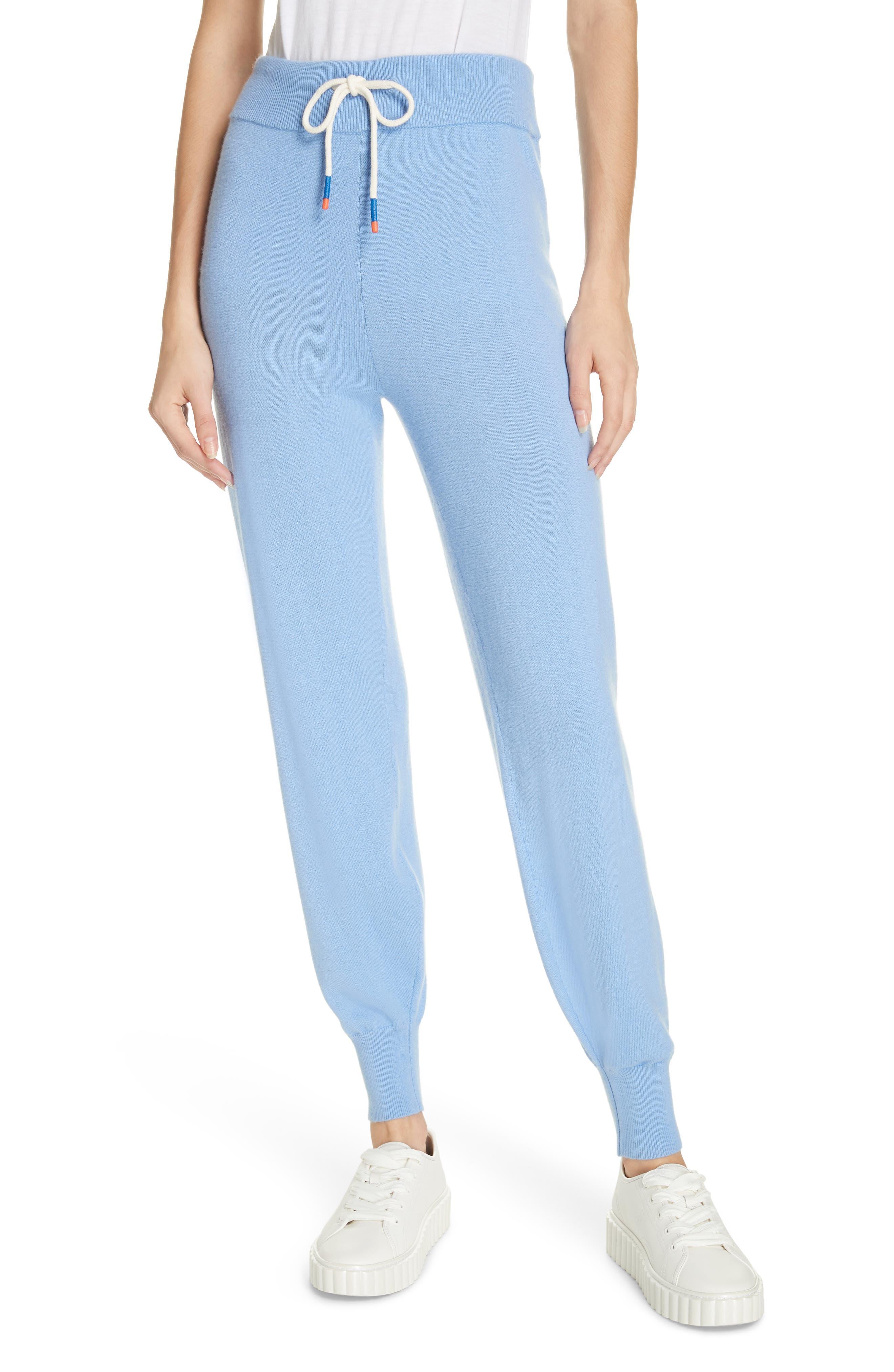 Tory Sport Performance Cashmere Blend Lounge Pants, Blue