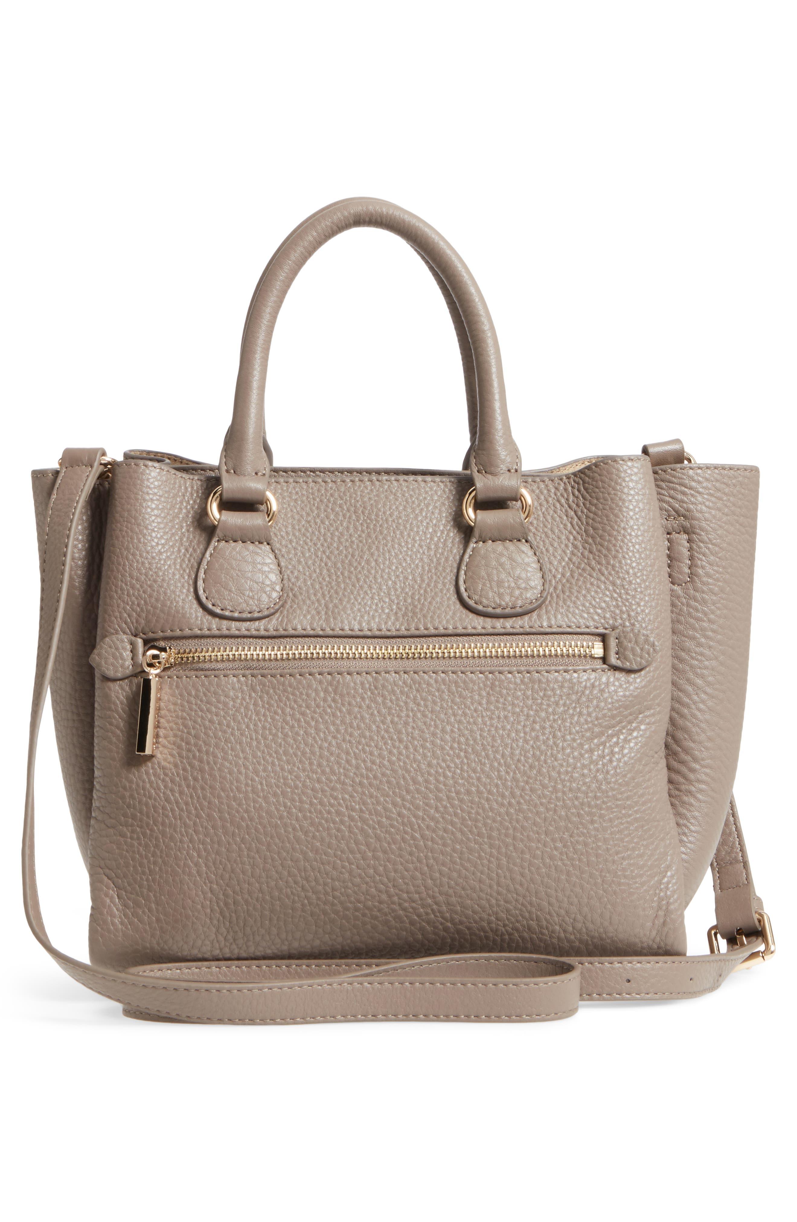 Céline Dion Small Adagio Leather Satchel,                             Alternate thumbnail 13, color,