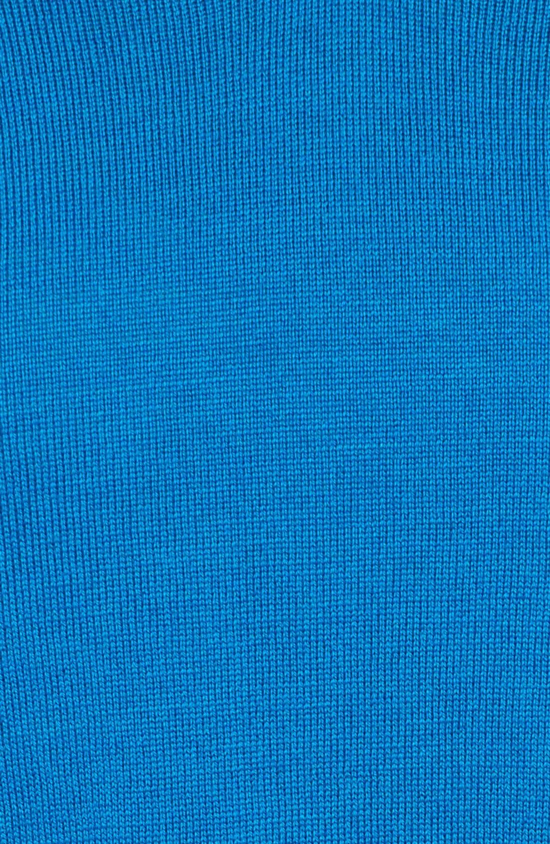 Lightweight Merino Jersey V-Neck Tunic,                             Alternate thumbnail 44, color,