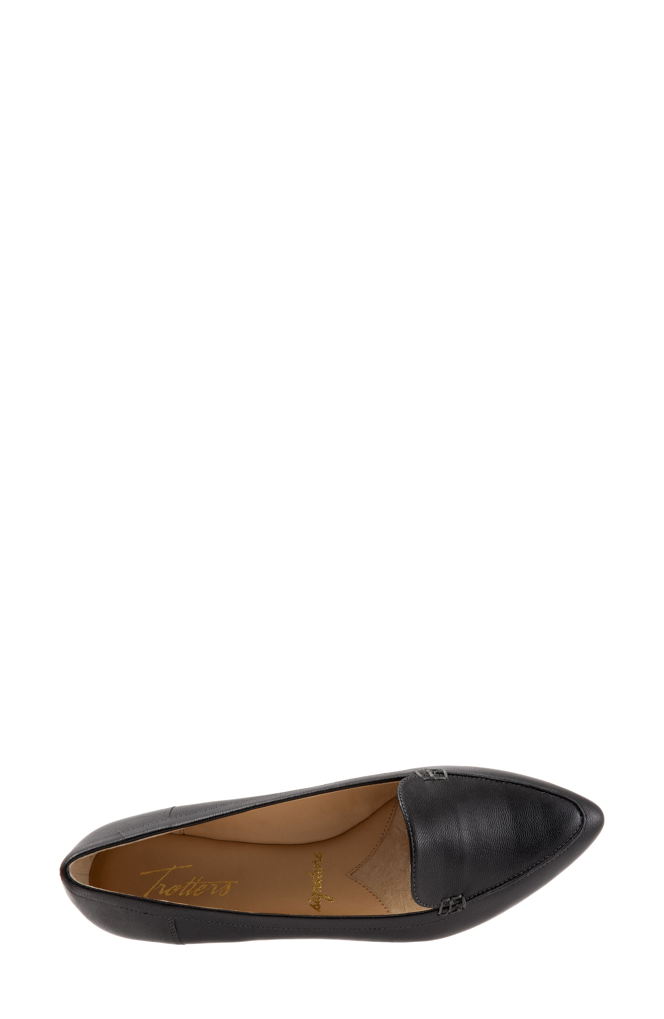 Ember Flat,                             Alternate thumbnail 5, color,                             BLACK LEATHER