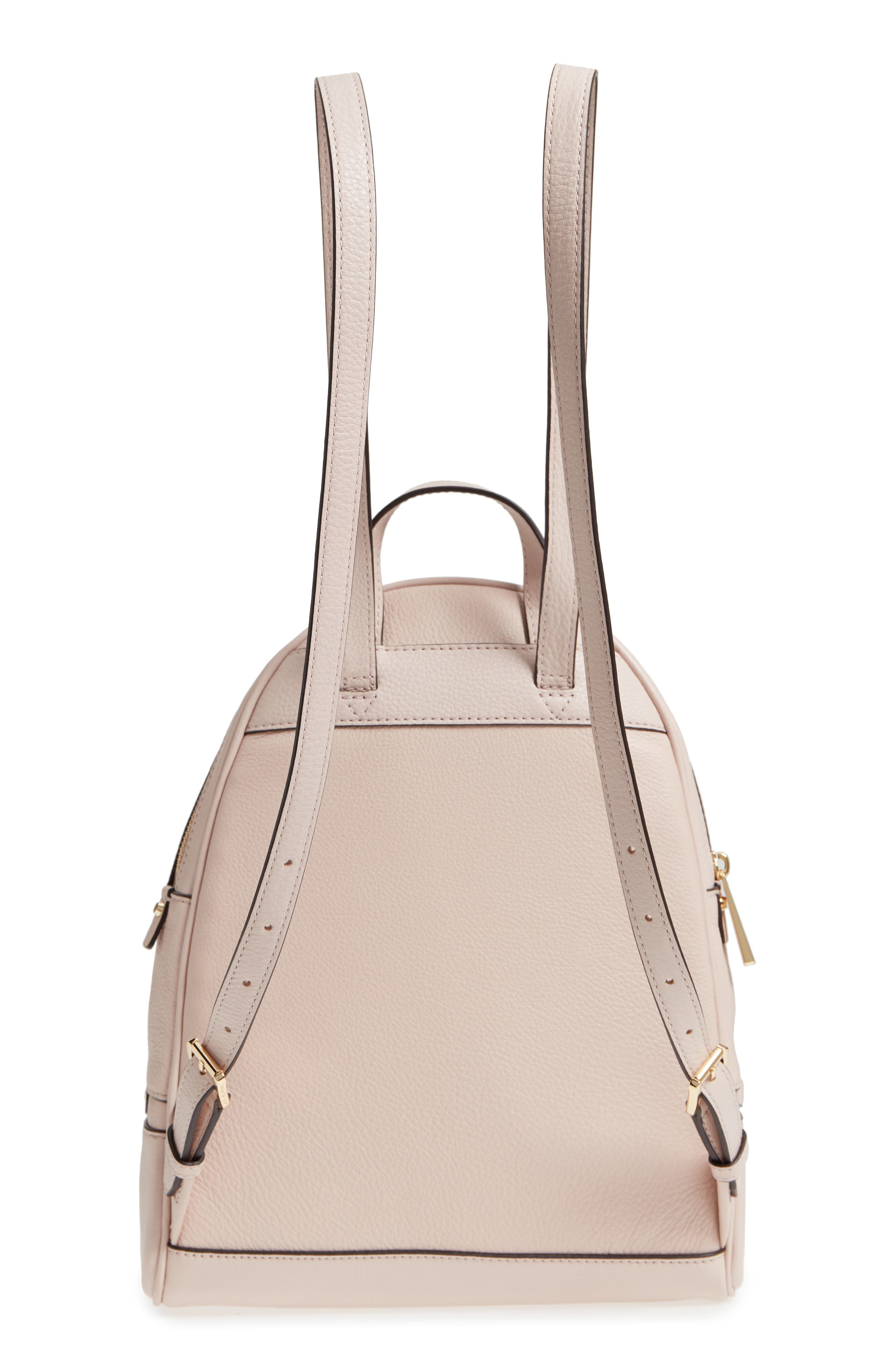 'Extra Small Rhea Zip' Leather Backpack,                             Alternate thumbnail 22, color,
