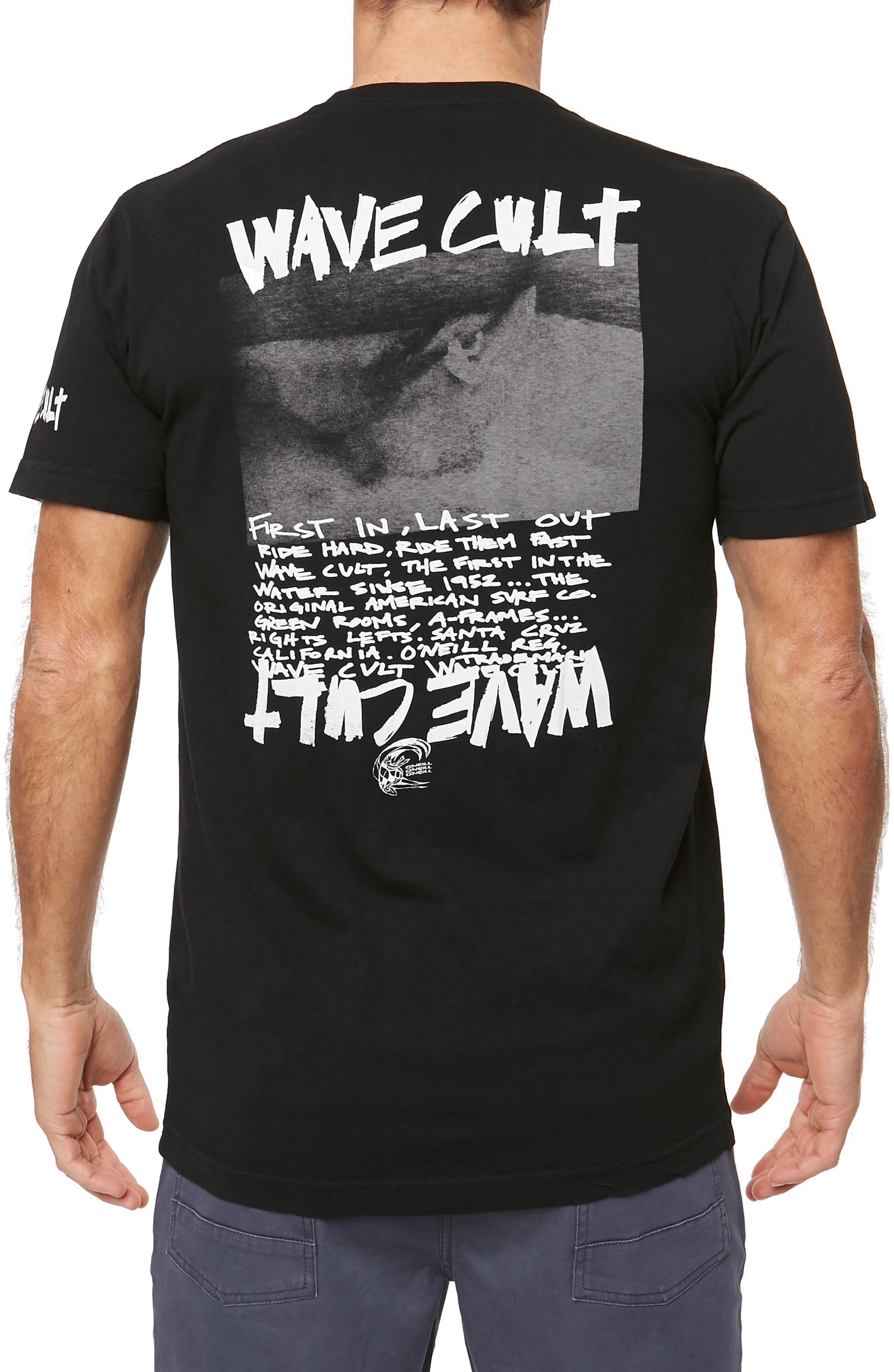 Crewneck T-Shirt,                             Alternate thumbnail 3, color,