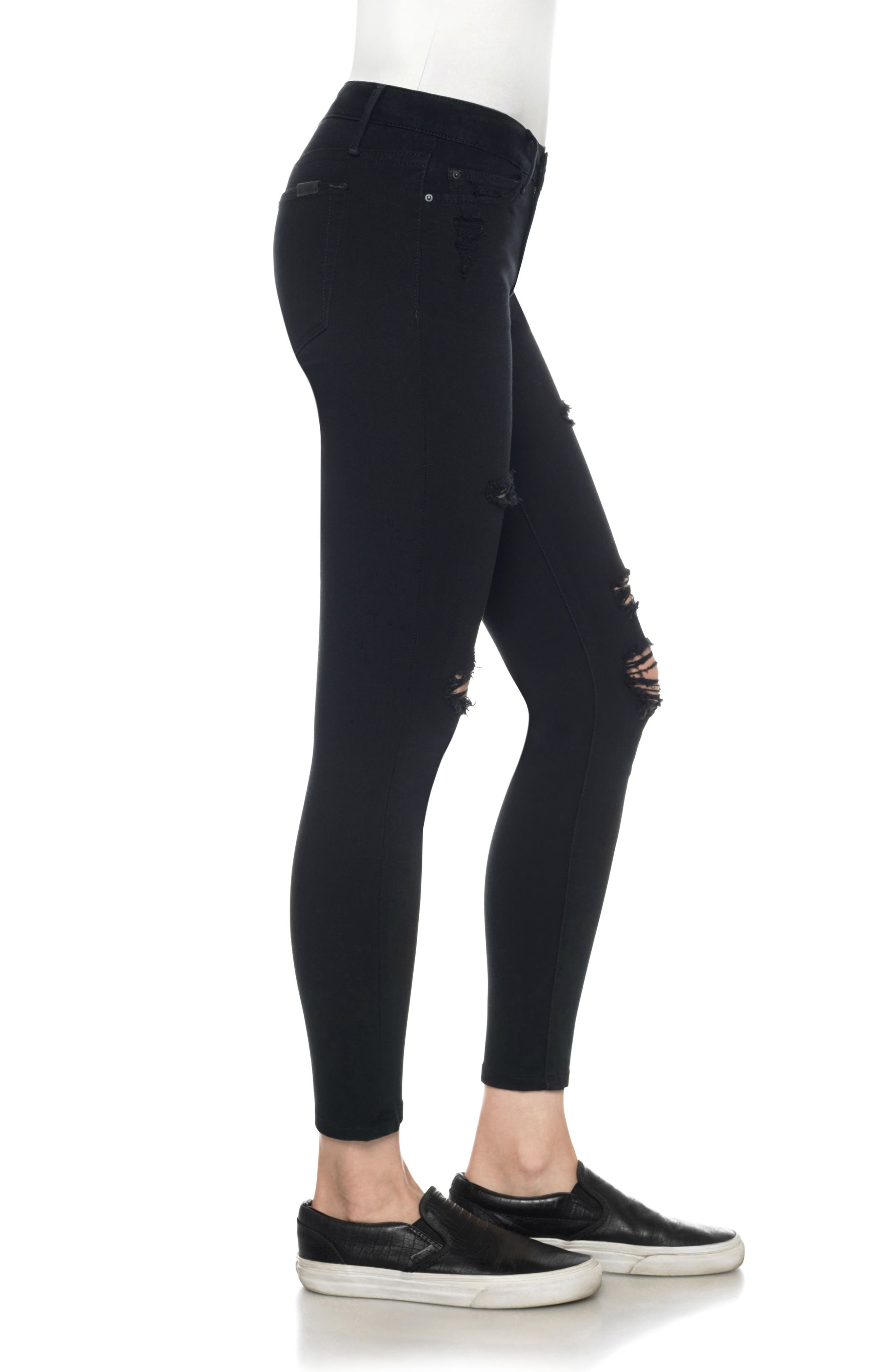 Flawless - Icon Ankle Skinny Jeans,                             Alternate thumbnail 3, color,