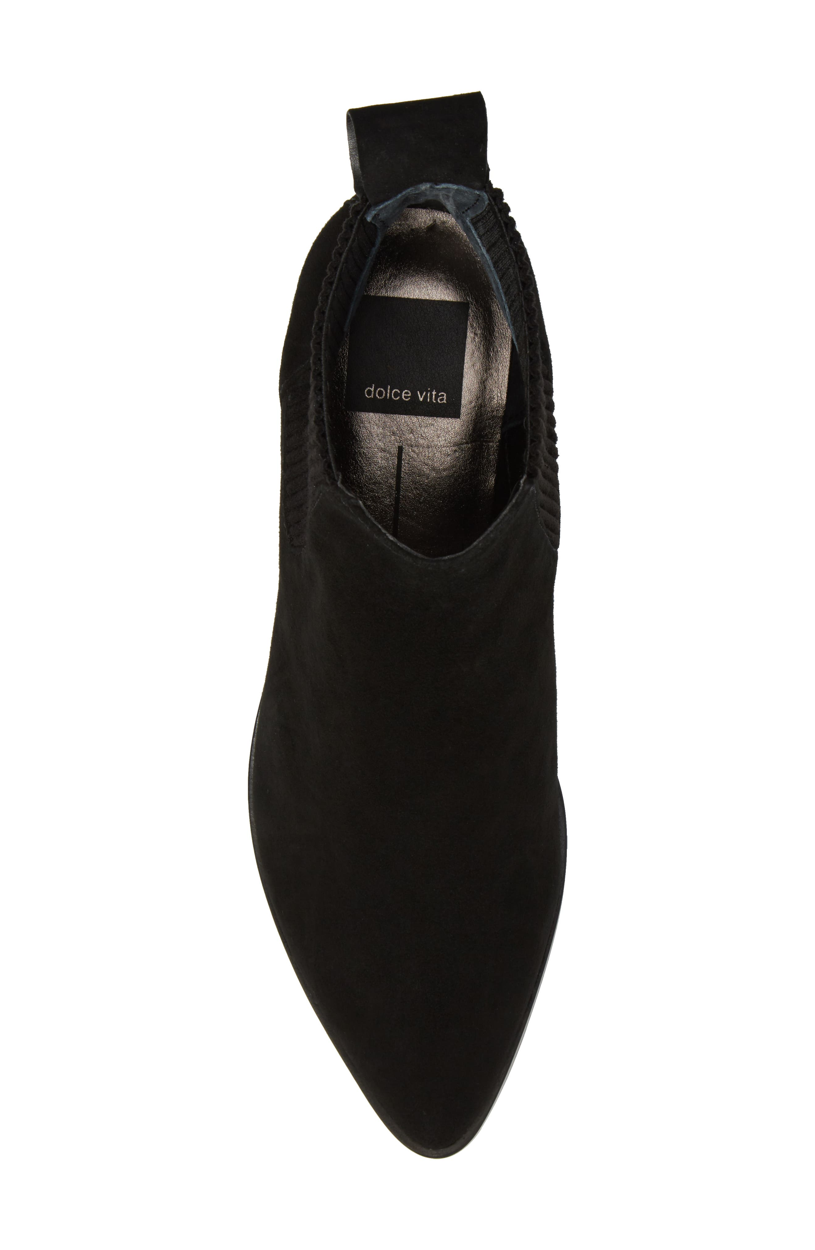 Macie Pointy Toe Chelsea Bootie,                             Alternate thumbnail 19, color,